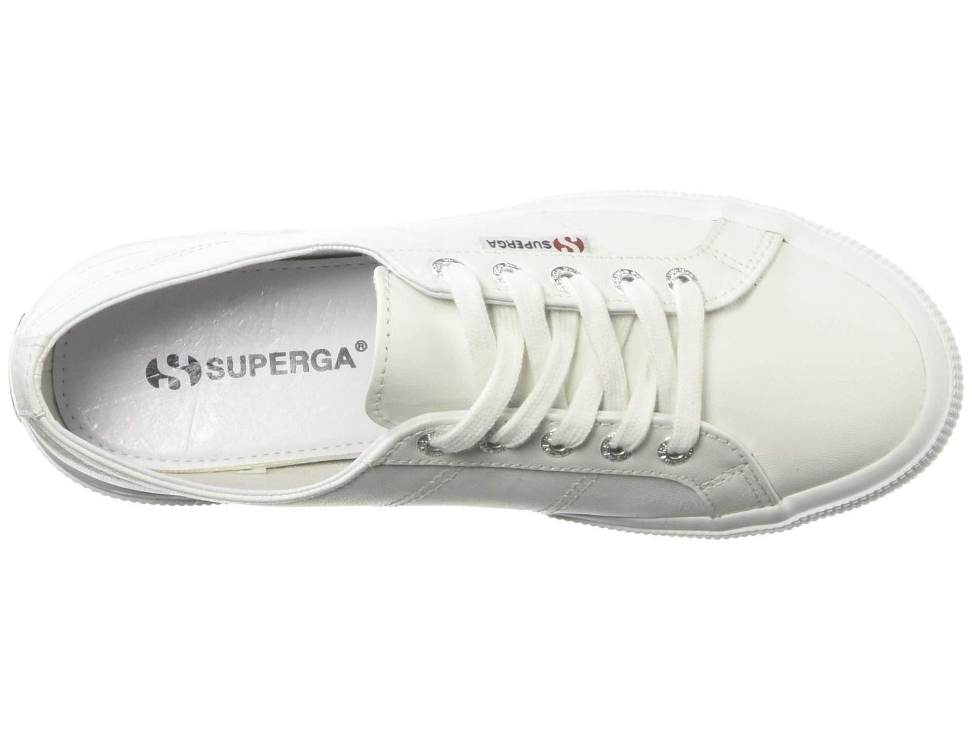 d89ac49a1ad Superga - White 2750 Nappaleau Sneaker (black) Women s Shoes - Lyst. View  fullscreen