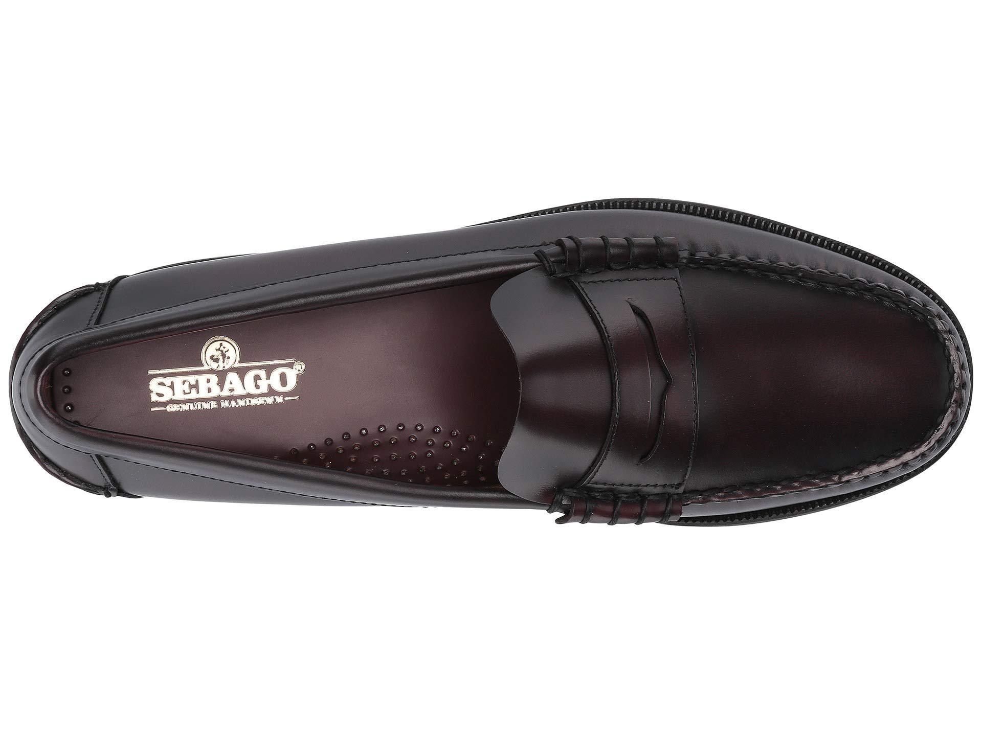54223ff7b1e Lyst - Sebago Classic Dan (brown burgundy) Men s Shoes in Brown for ...