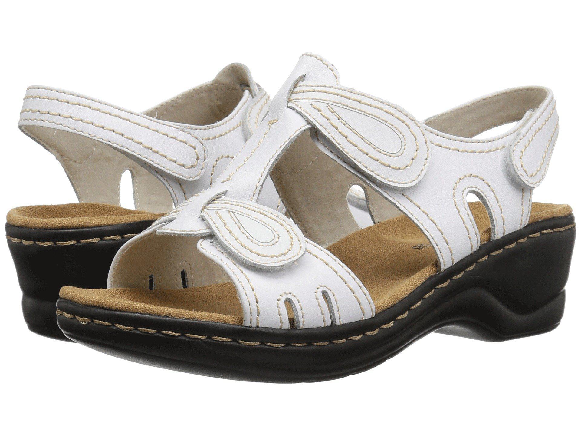 b9176b13c96929 Lyst - Clarks Lexi Walnut Q (white) Women s Sandals in White
