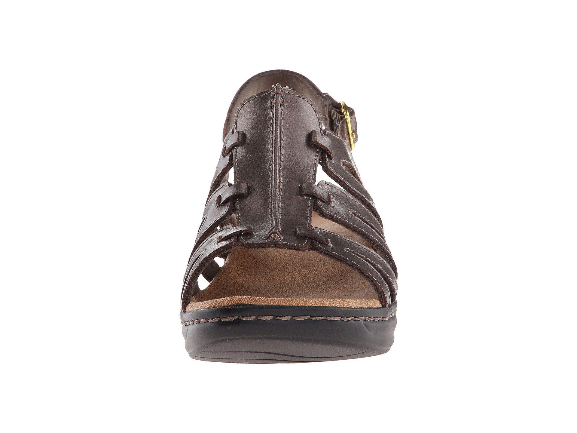 d473f0943ca3a8 Clarks - Metallic Lexi Marigold Q (white Leather) Women s Sandals - Lyst.  View fullscreen