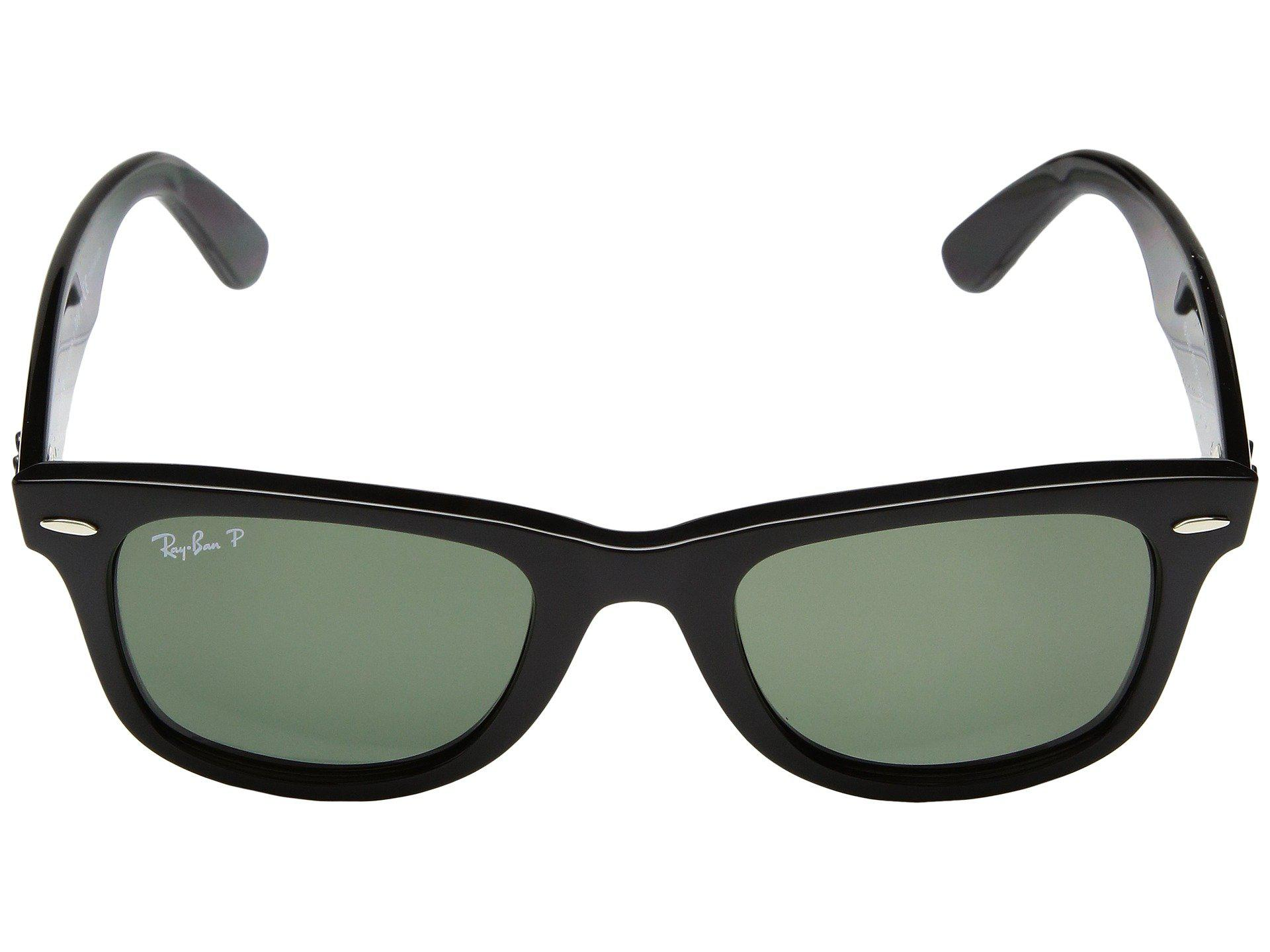 dc5eb621682 Ray-Ban - Wayfarer Ease Rb4340 50mm (black polarized Green Classic G-. View  fullscreen