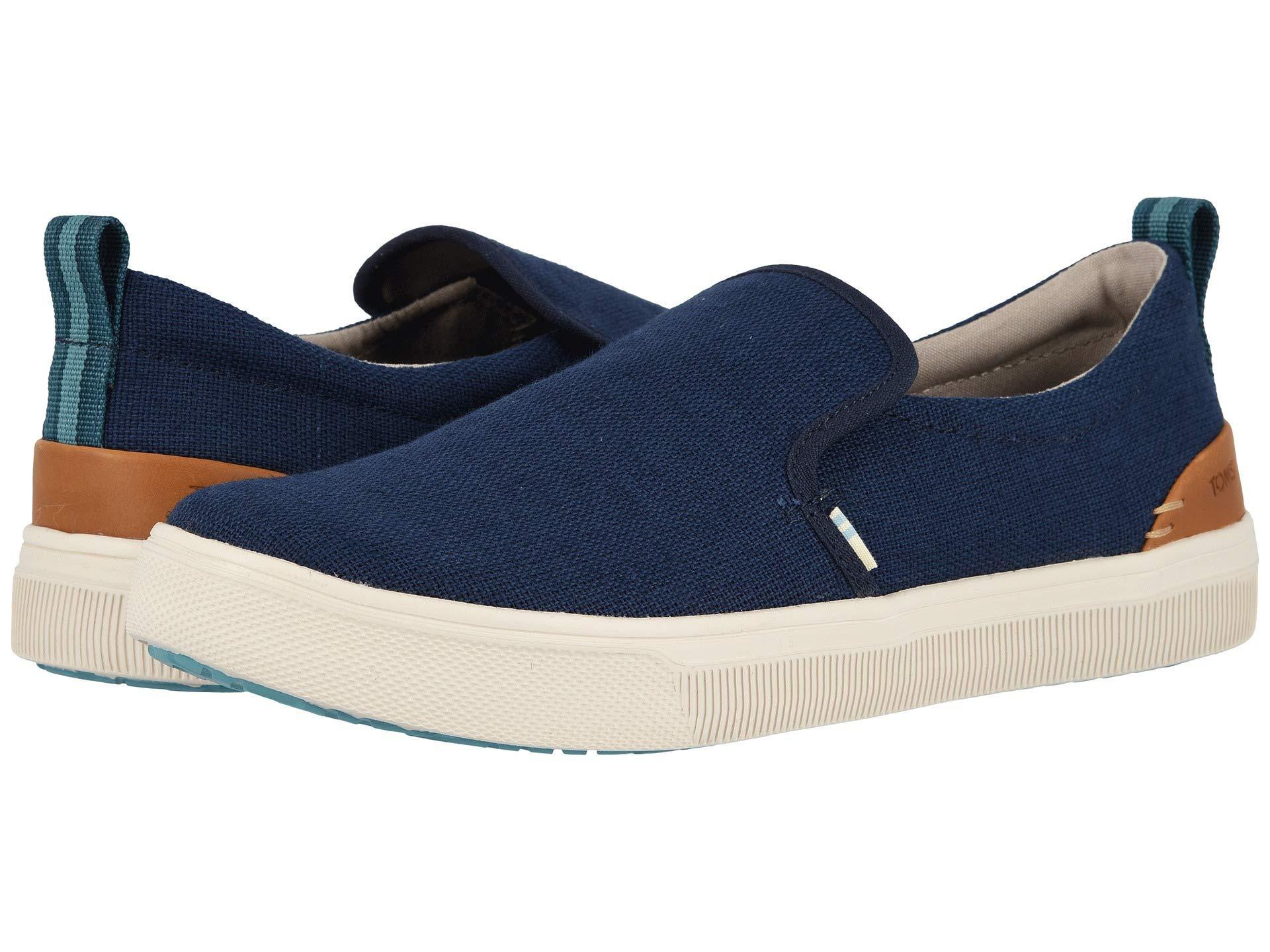 17fd1f8c5c3 Lyst - TOMS Men s Trvl Lite Canvas Slip-on Sneakers in Blue for Men ...