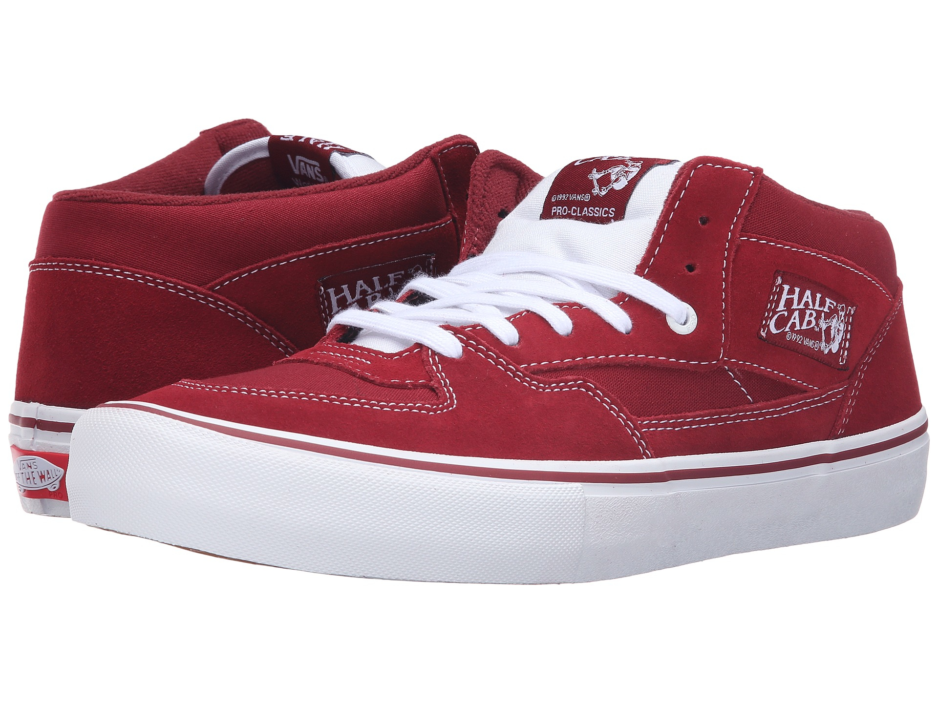 33063bd2f2 Lyst - Vans Half Cab® Pro in Red for Men