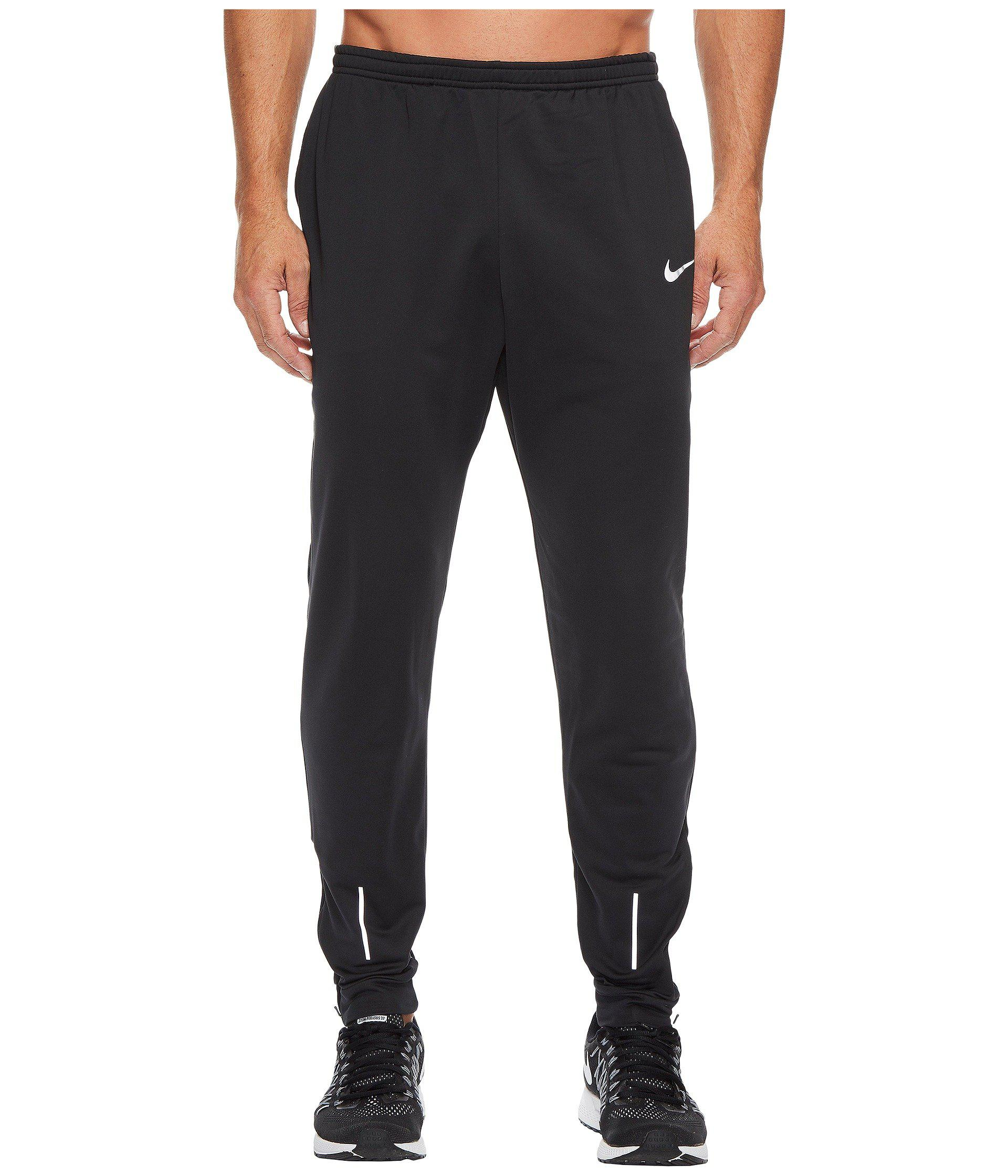 Lyst - Nike Therma Essential Running Pant in Black for Men 534de7e7a2b