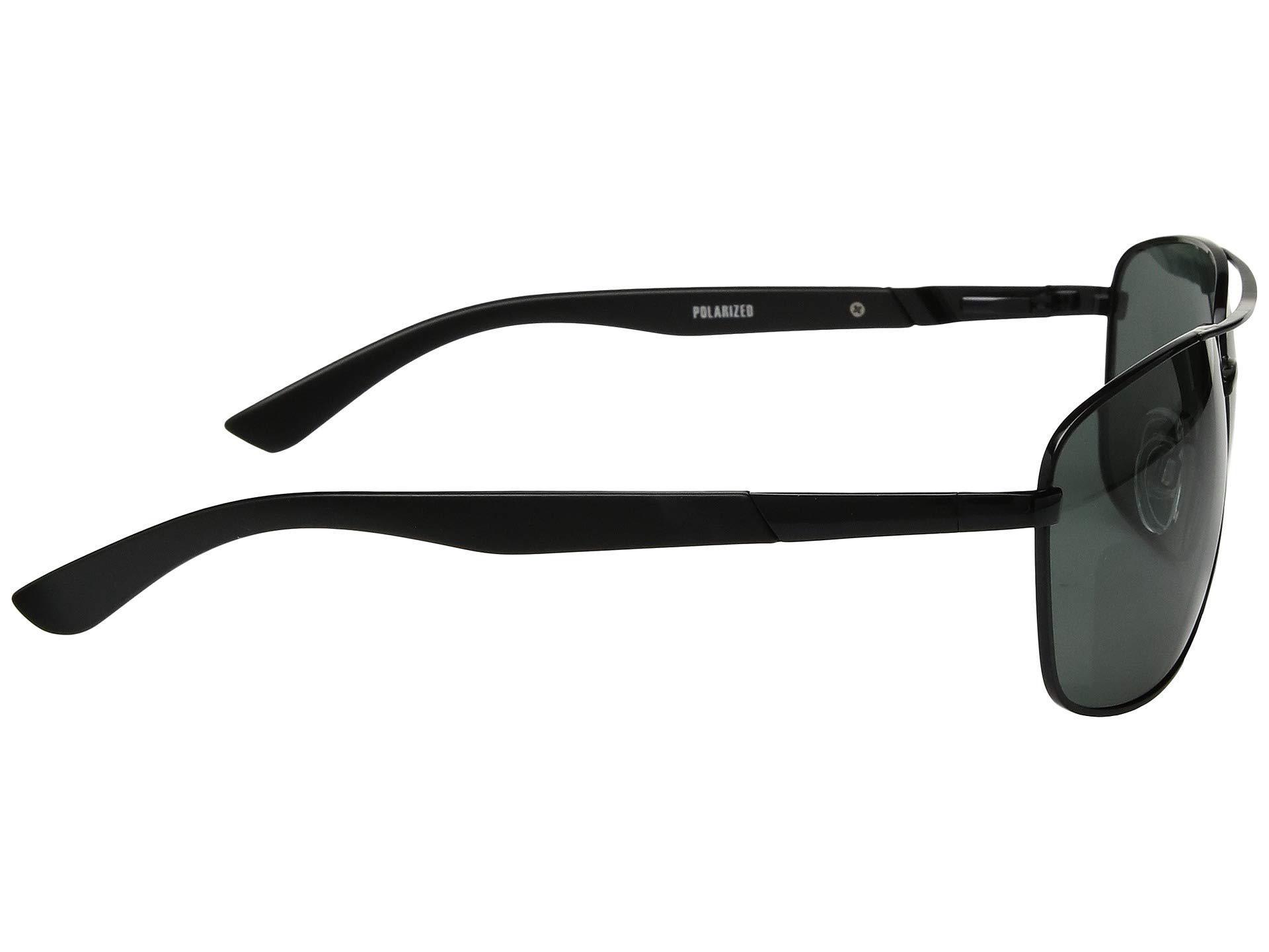 b7e445701c Lyst - Steve Madden Polarized Ryan (black Frame green Lens) Fashion ...