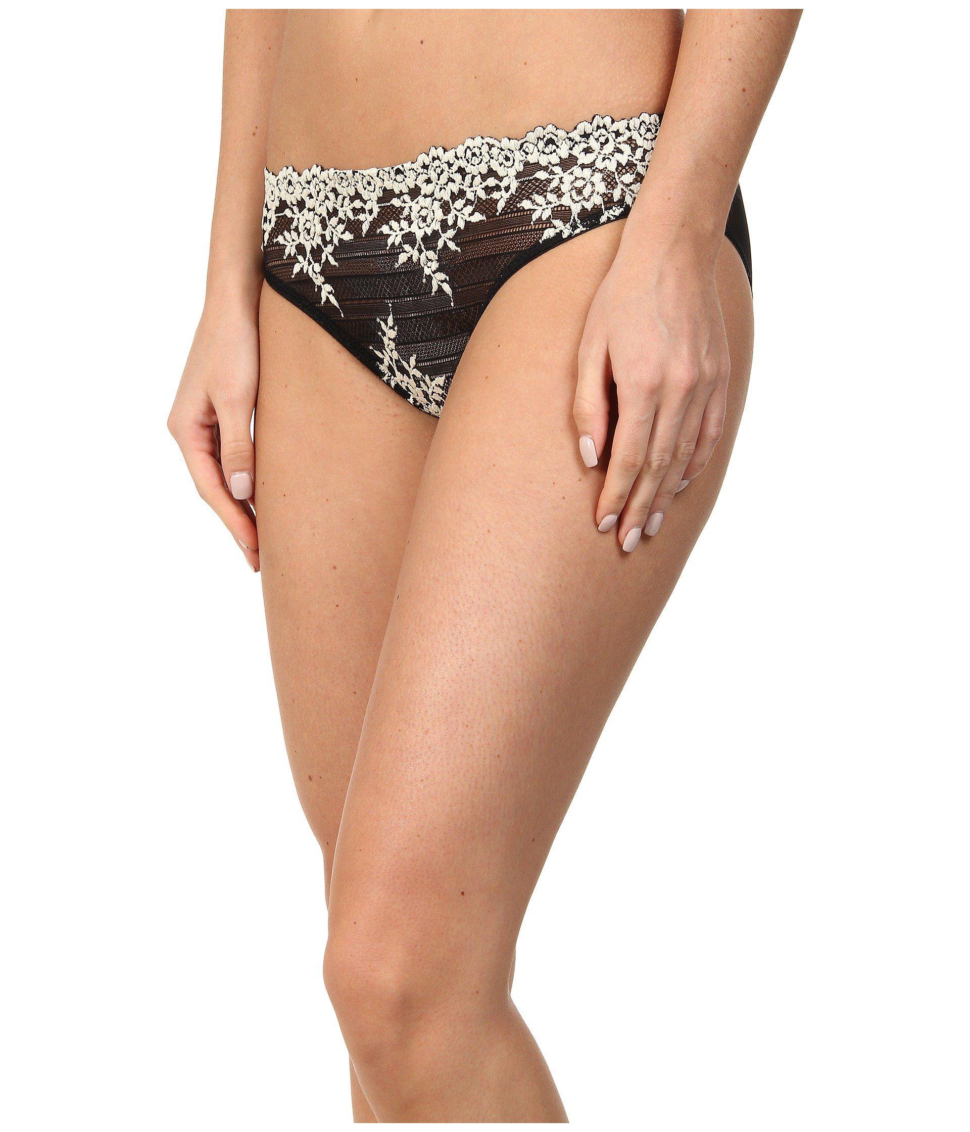 453f4548125a2 Lyst - Wacoal Embrace Lace Bikini (natural Nude ivory) Women s ...
