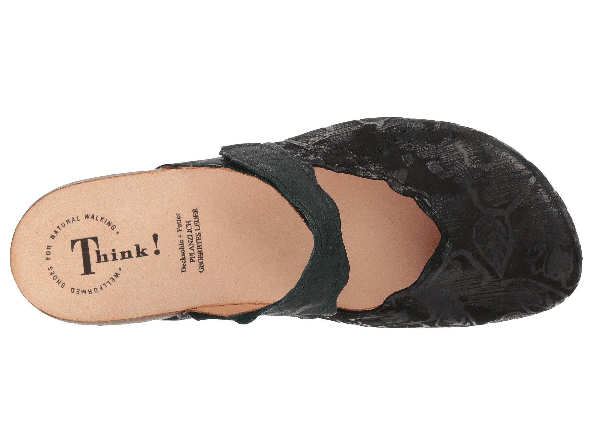 37aaafd854fe2 Lyst - Think! Julia - 83345 (black) Women s Clog Shoes in Black
