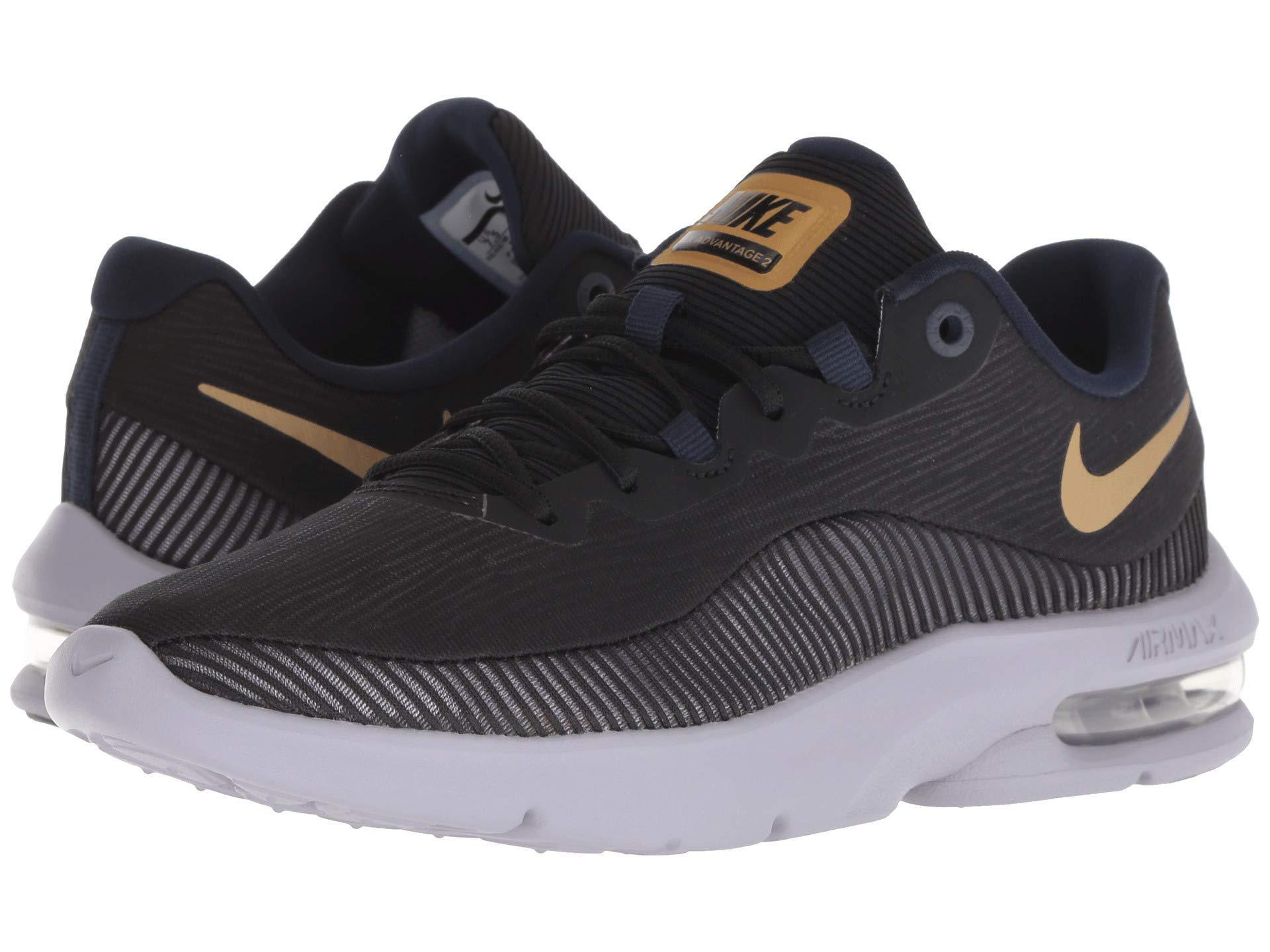 9a2918362037 Lyst - Nike Air Max Advantage 2 (white black) Women s Running Shoes ...