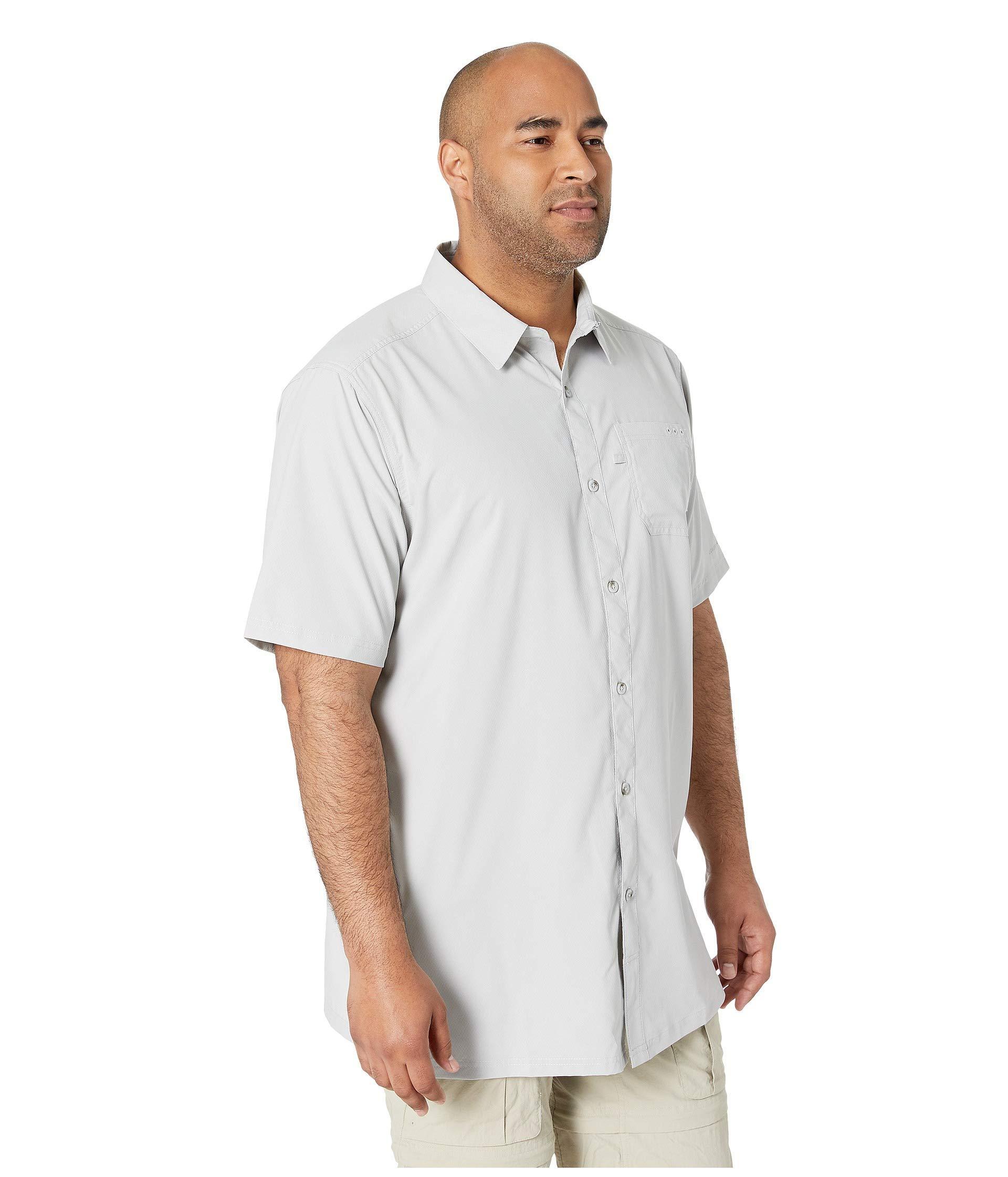 69e05de5dcb Columbia - Gray Big Tall Slack Tide Camp Shirt (black) Men's Short Sleeve  Button. View fullscreen