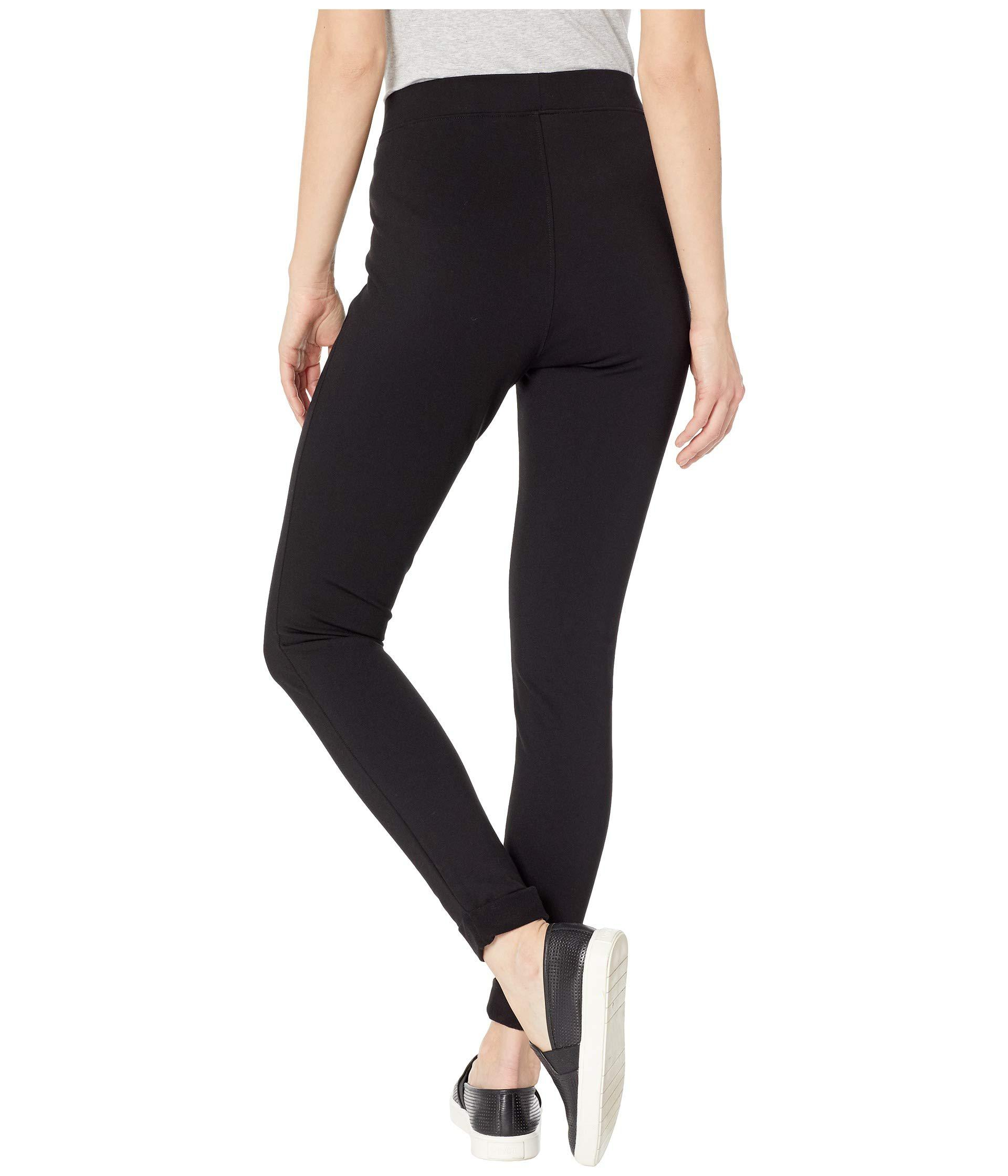 83d438b8323e1 Hue - Fleece Lined High-waist Ponte Leggings (black) Women's Casual Pants  -. View fullscreen