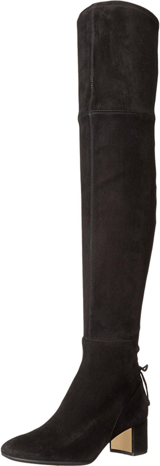 87d4a717240 Lyst - Tory Burch Laila 45mm Over The Knee in Black