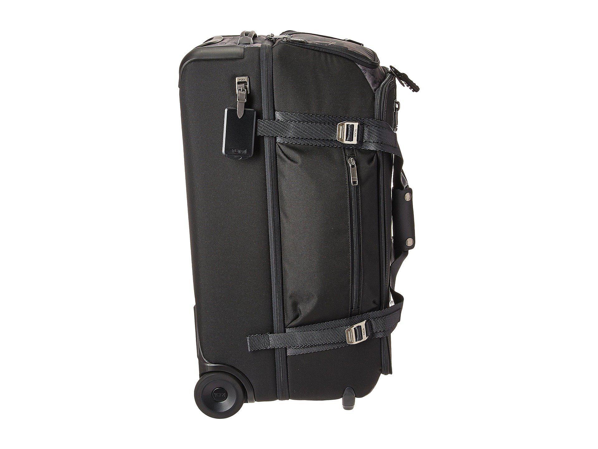 d3368bc91 Tumi - Merge Wheeled Duffel Packing Case (black Contrast) Duffel Bags for  Men -