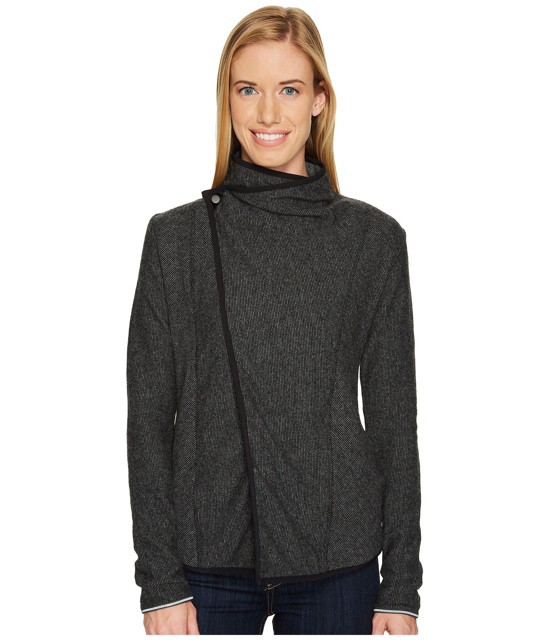 Lyst Mountain Hardwear Sarafin Wrap Sweater Mystic Purple