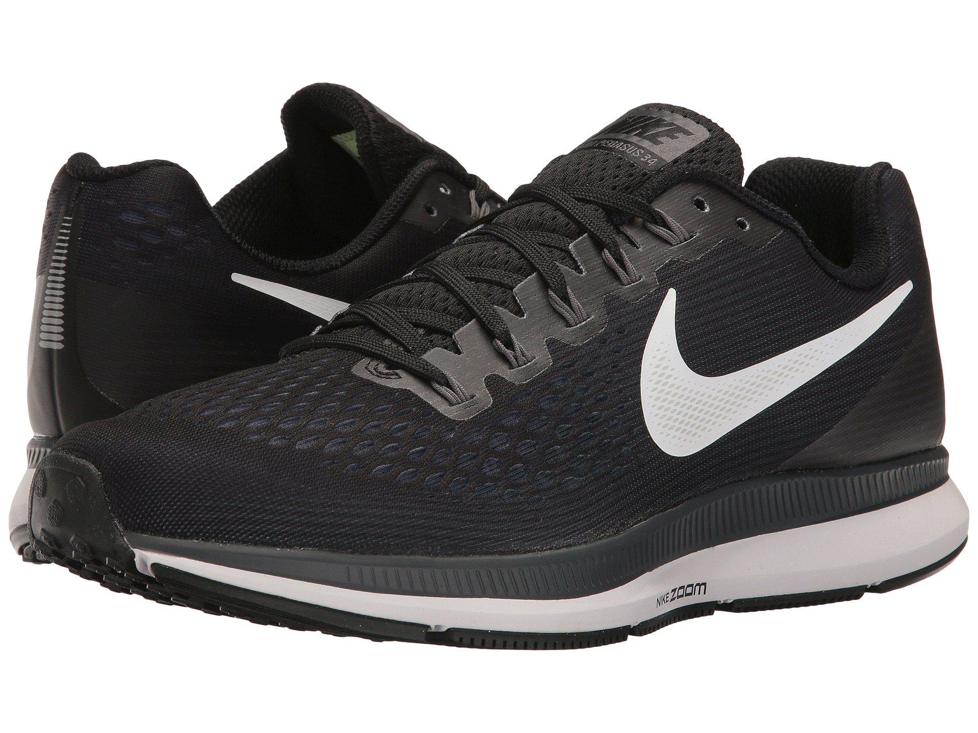 8a5d343e3ba3 Lyst - Nike Air Zoom Pegasus 34 (sequoia black dark Stucco volt ...