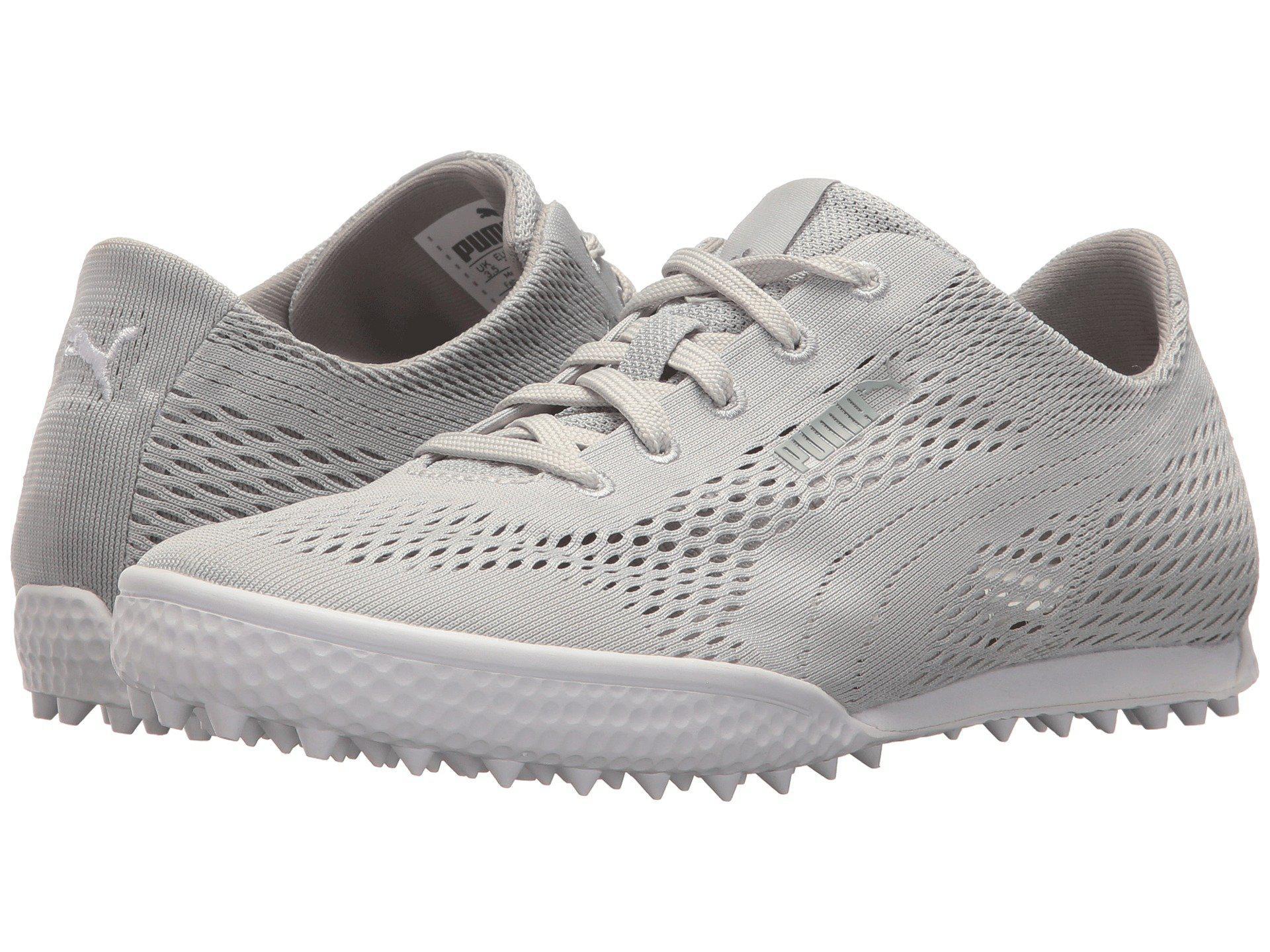 b5079cb8fe6d PUMA. Gray Monolite Cat Woven (lilac Sachet peacoat) Women s Golf Shoes