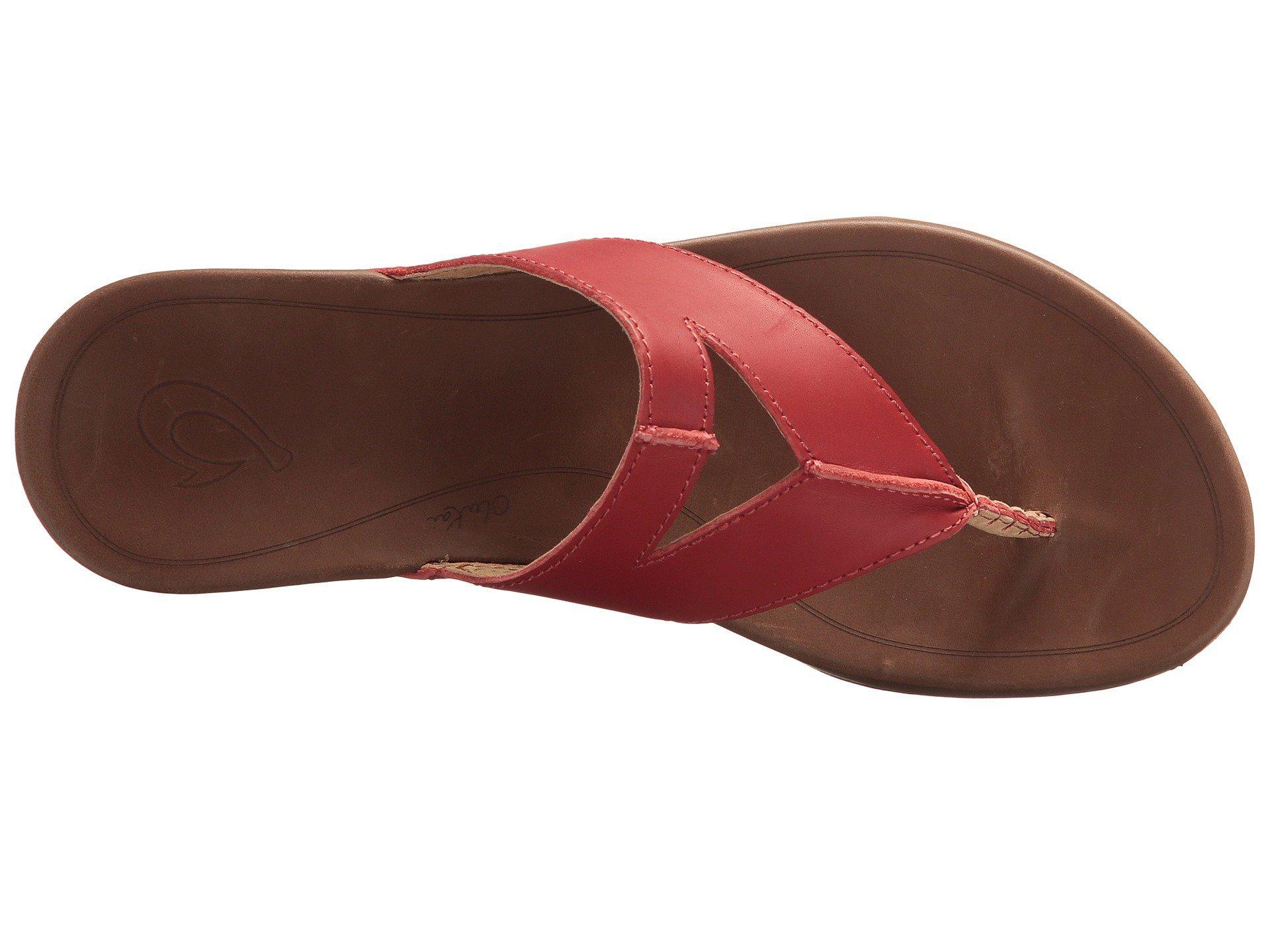 a2e39ff70203 Olukai - Multicolor Lala (black tan) Women s Sandals - Lyst. View fullscreen