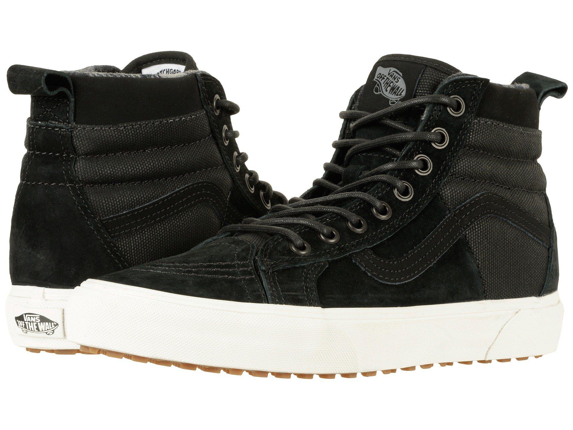 62b584639e Lyst - Vans Sk8-hi 46 Mte Dx ((mte) Tact black) Skate Shoes in Black ...