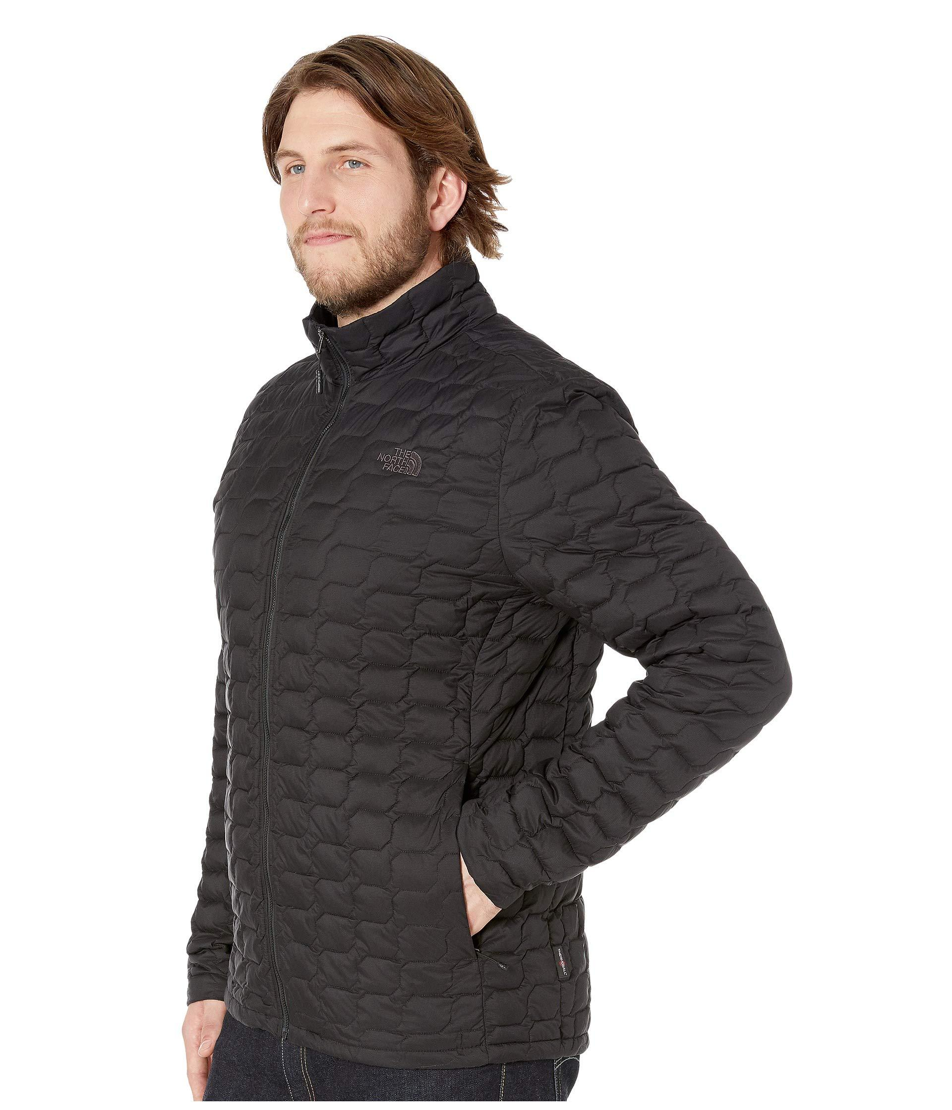 099bfd7791 Lyst - The North Face Thermoball Jacket - Tall (urban Navy Matte mid Grey) Men s  Coat in Black for Men