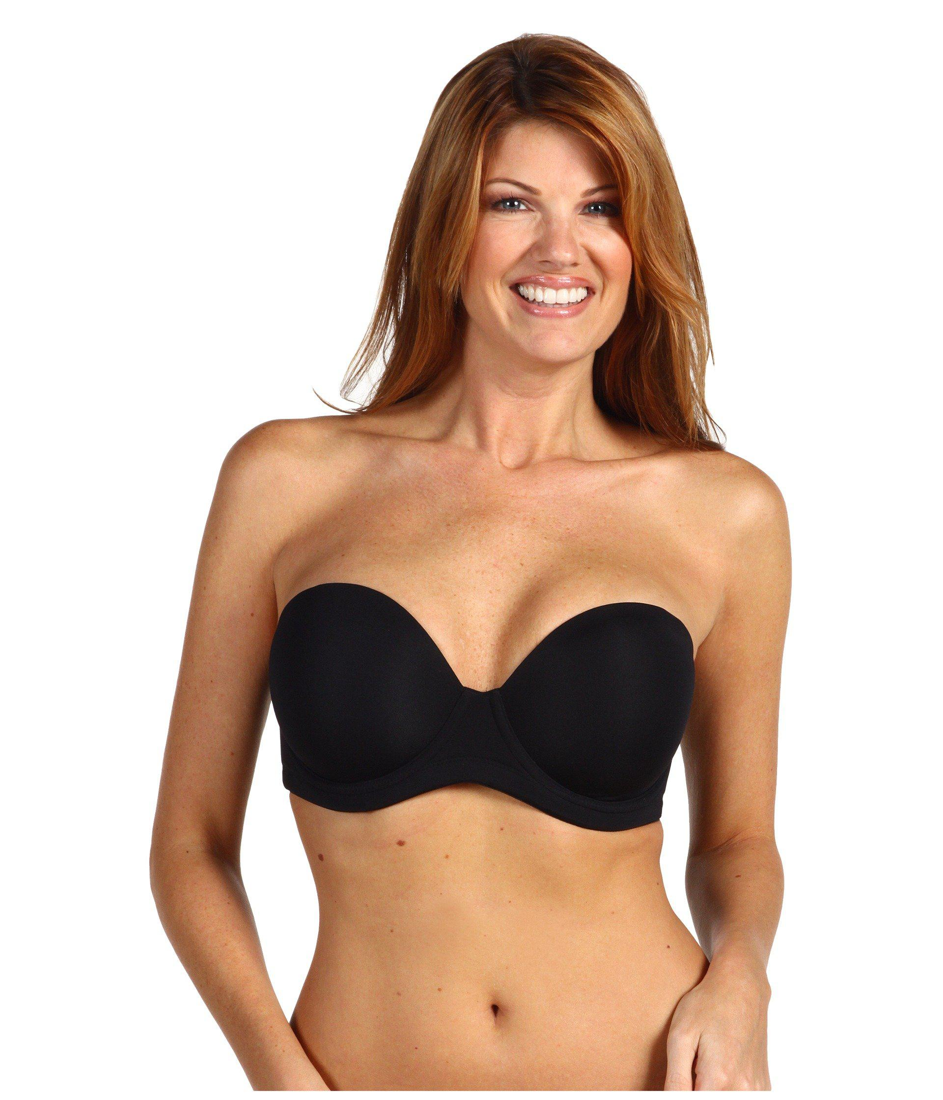 b6cbc9fee40 Lyst - Wacoal Red Carpet Full-figure Strapless Bra in Black - Save 4%