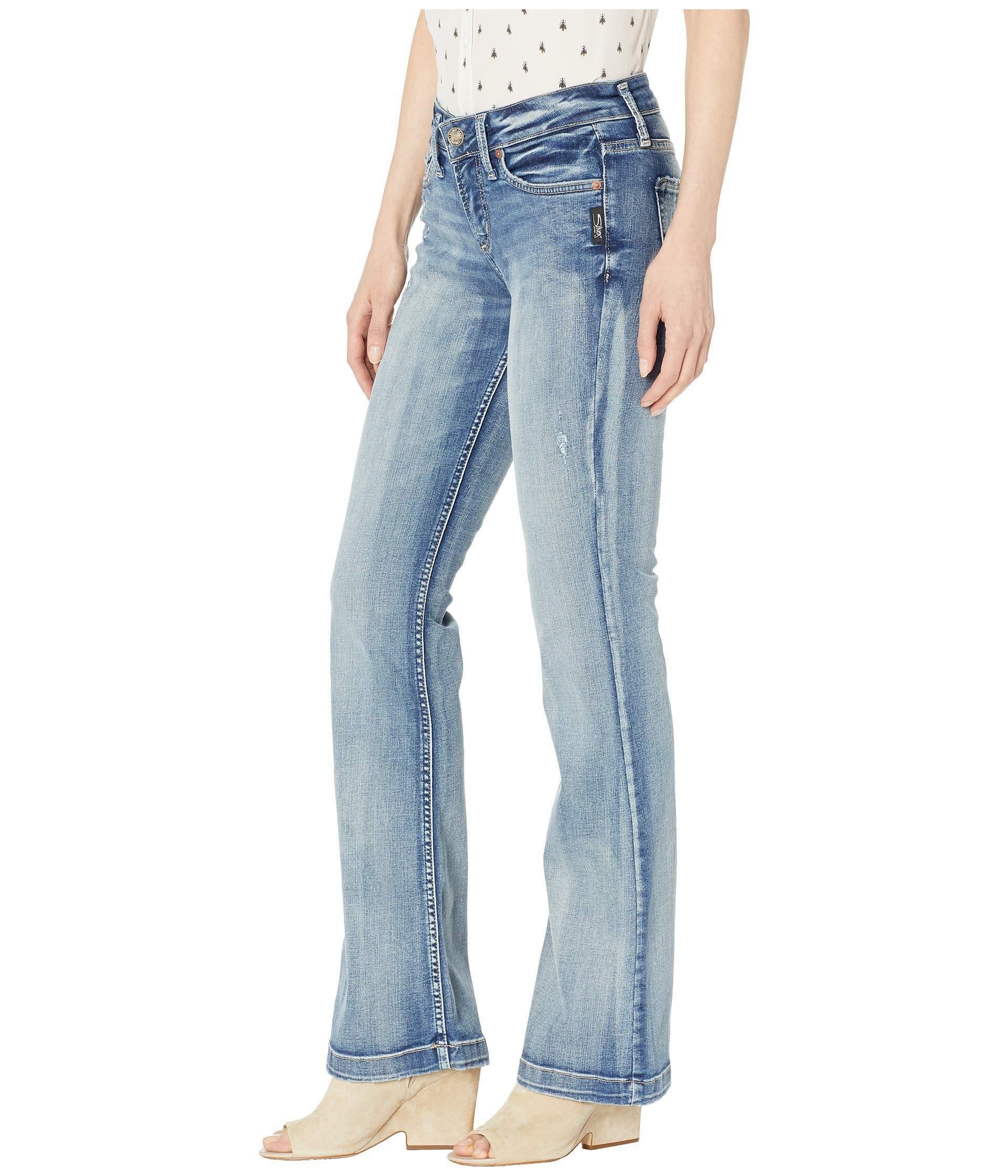 608eba0ebcd Lyst - Silver Jeans Co. Suki Mid-rise Curvy Fit Bootcut Jeans In Indigo ( indigo) Women's Jeans in Blue