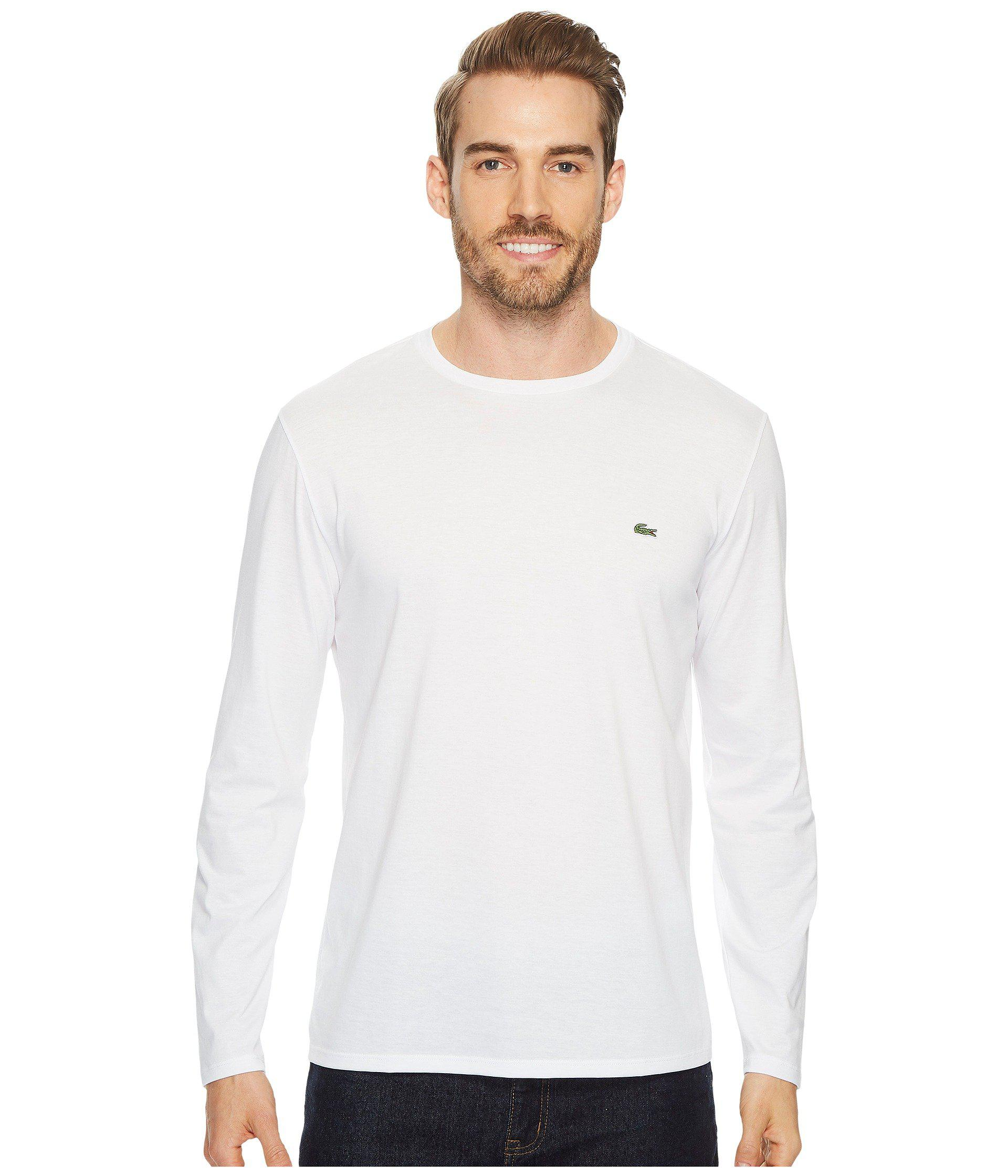 d73d06fba1 Lacoste Shirt Long Sleeve V Neck T Shirt   Azərbaycan Dillər ...