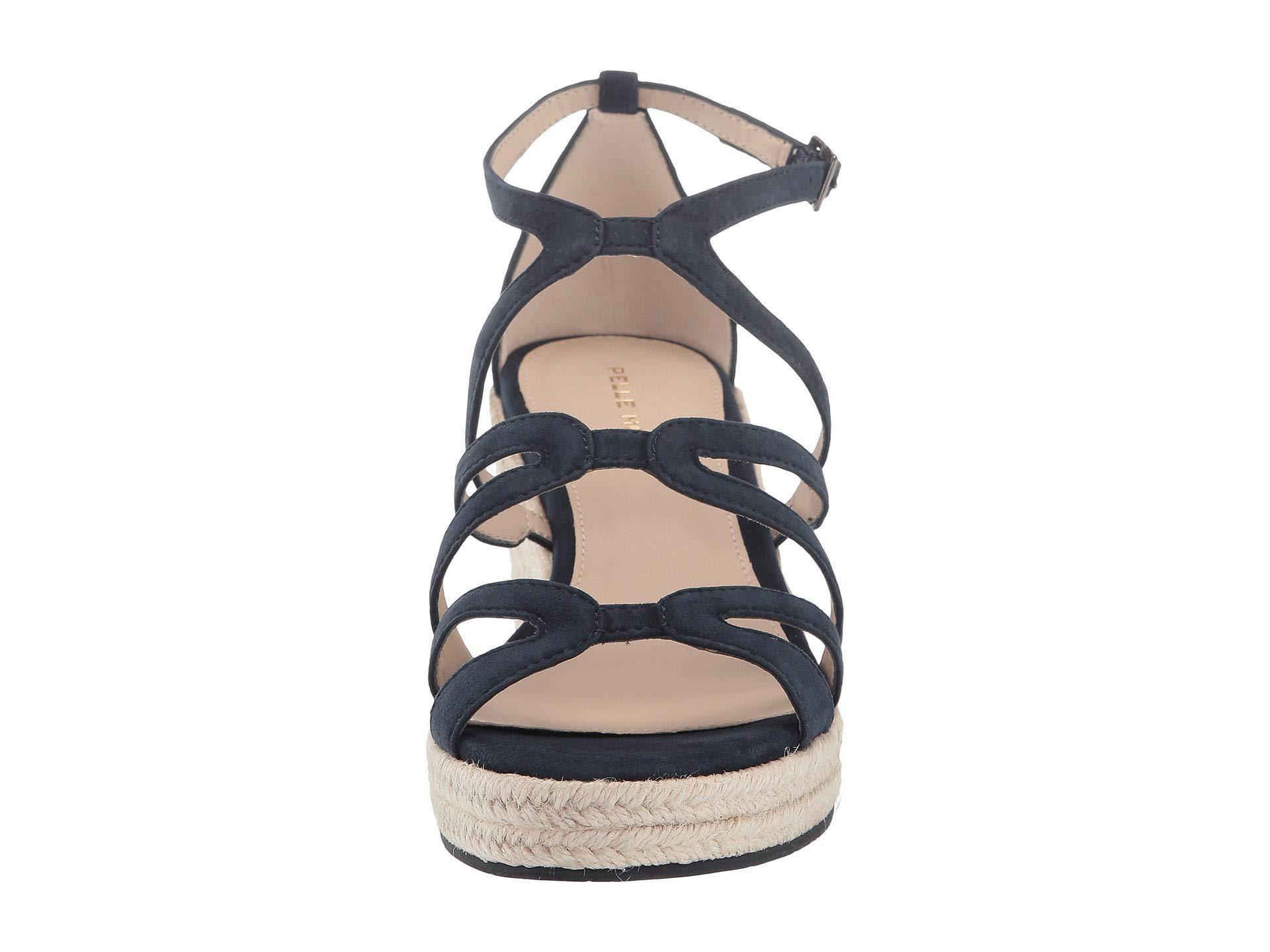 c9d6c35ae62 Lyst - Pelle Moda Kyrell (black Suede) Women's Dress Sandals in Blue