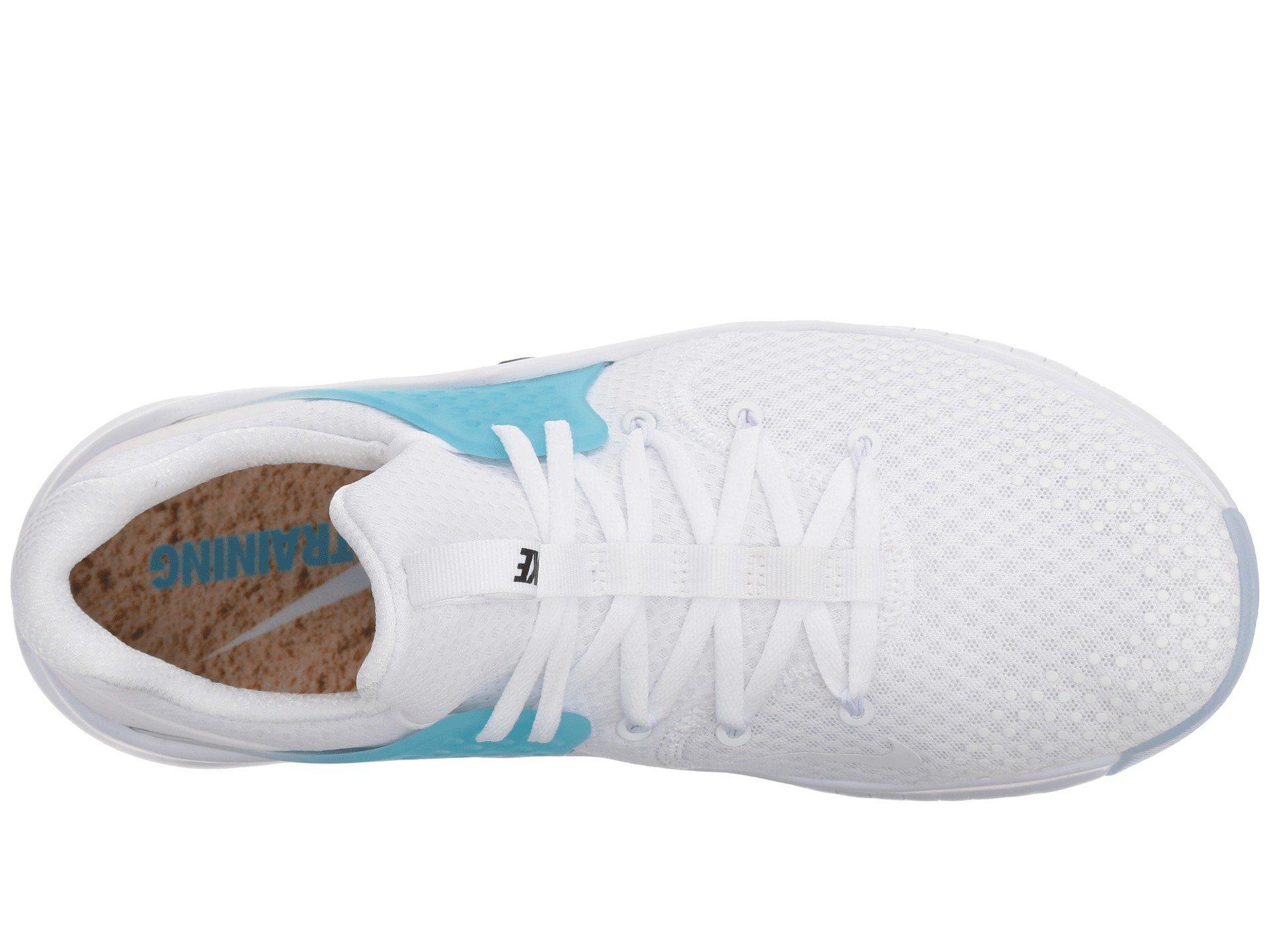 30d694d52caa Lyst - Nike Free Trainer V8 (black white red Blaze) Men s Cross ...