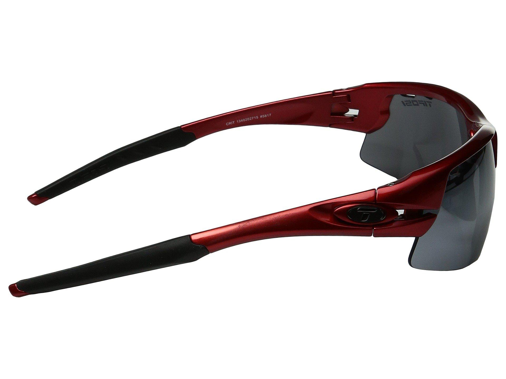 a4fe1671ea3 Lyst - Tifosi Optics Crit (metallic Red 1) Sport Sunglasses in Gray ...
