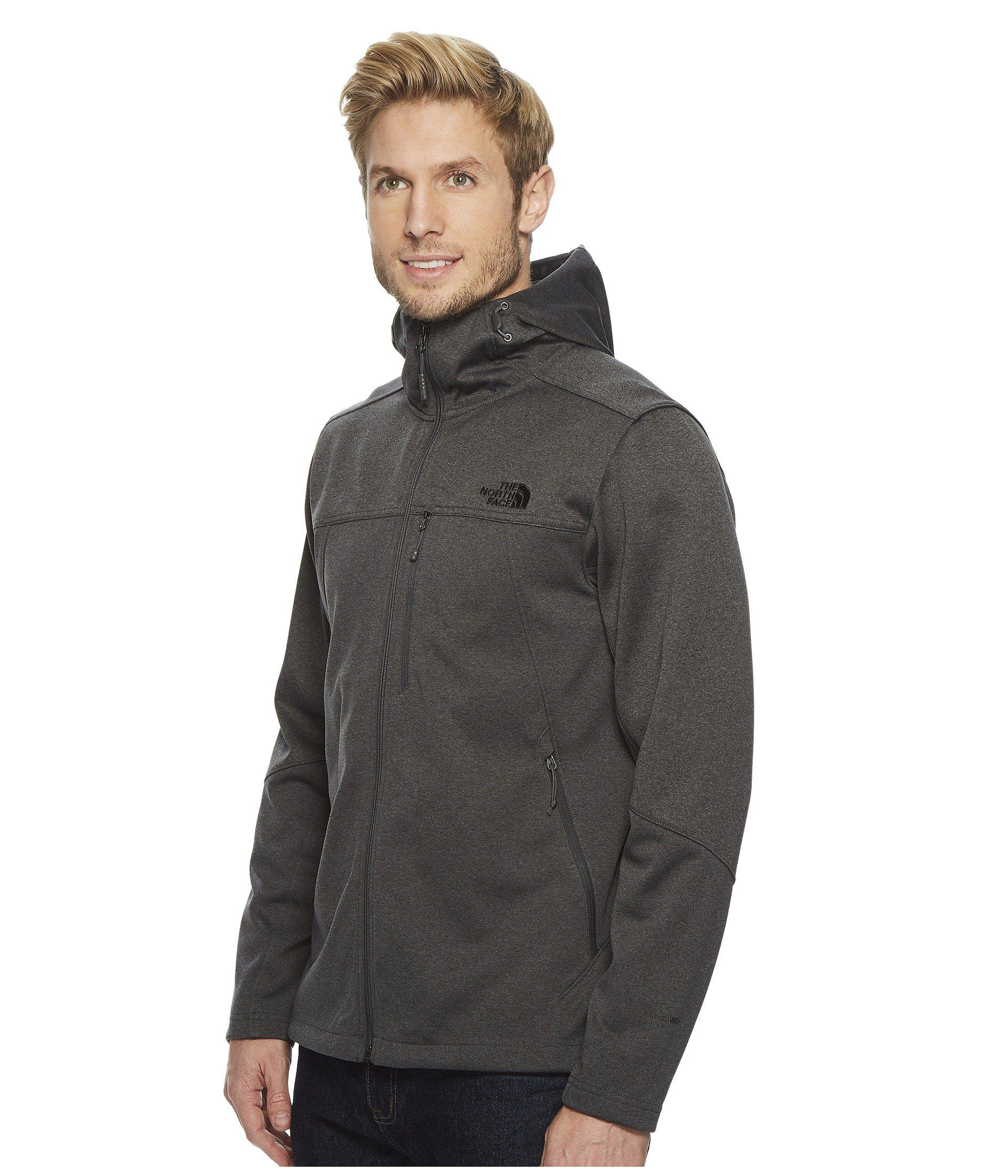 f4cfef641c4b Lyst - The North Face Apex Canyonwall Hybrid Hoodie (tnf Black tnf Black)  Men s Sweatshirt in Gray for Men