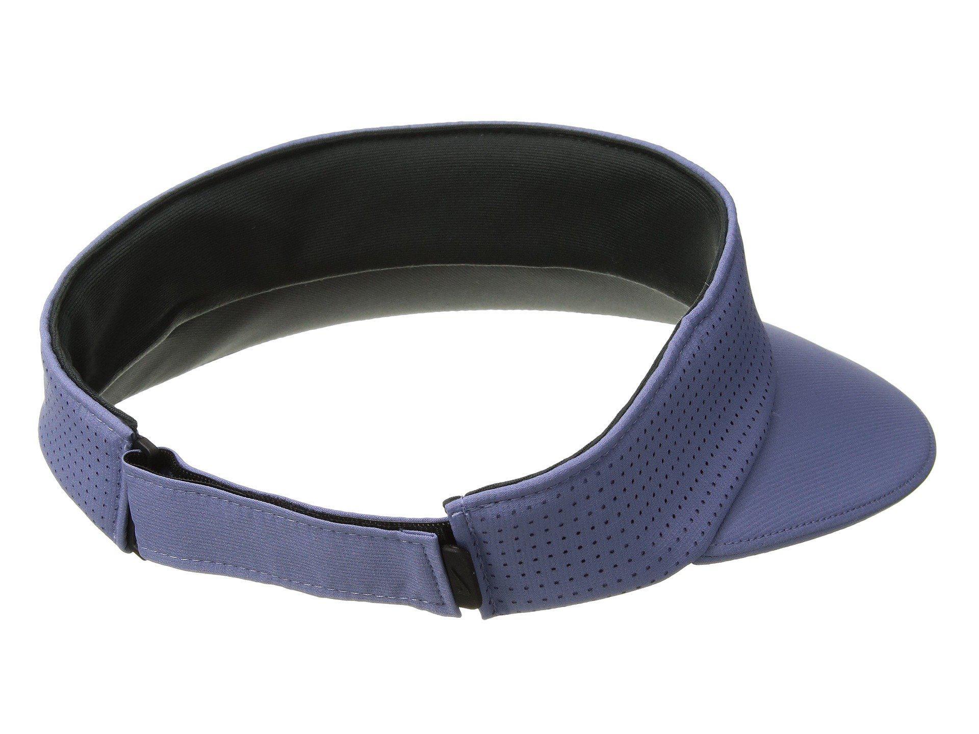 3a0ac4cf4a350 Lyst - Nike Aerobill Visor Big Bill (purple Slate anthracite white ...