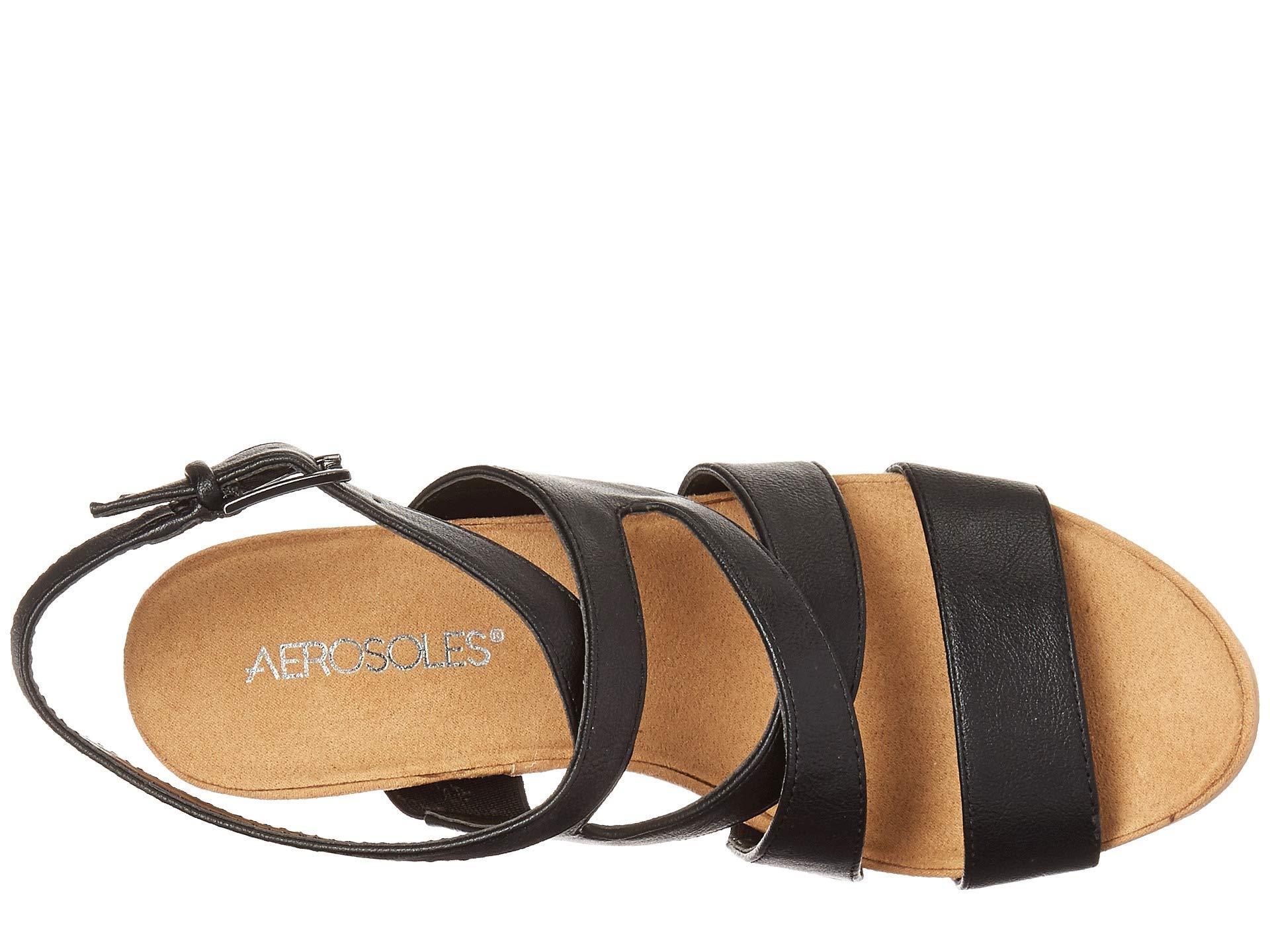 24390d708525 Aerosoles - Silver Plush (black) Women s Shoes - Lyst. View fullscreen