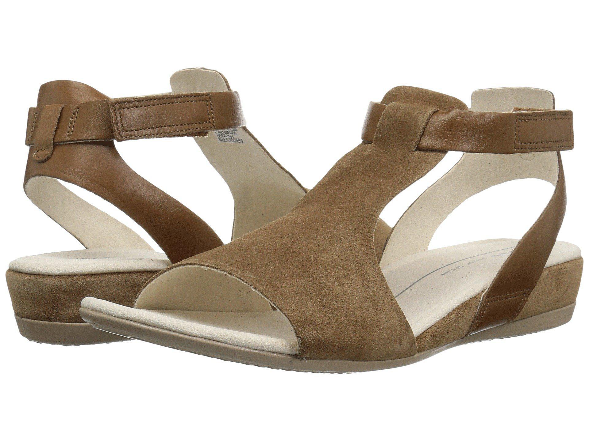 0a3b53bd1da Lyst - Ecco Touch 25 Ankle Sandal (camel camel) Women s Sandals in ...