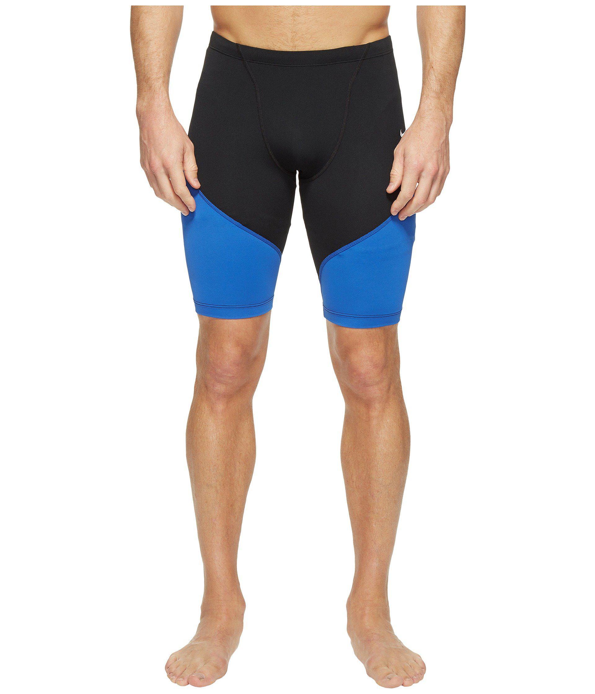 timeless design 50eba 05509 Nike Surge Color Block 100% Poly Jammer (black) Men s Swimwear in ...