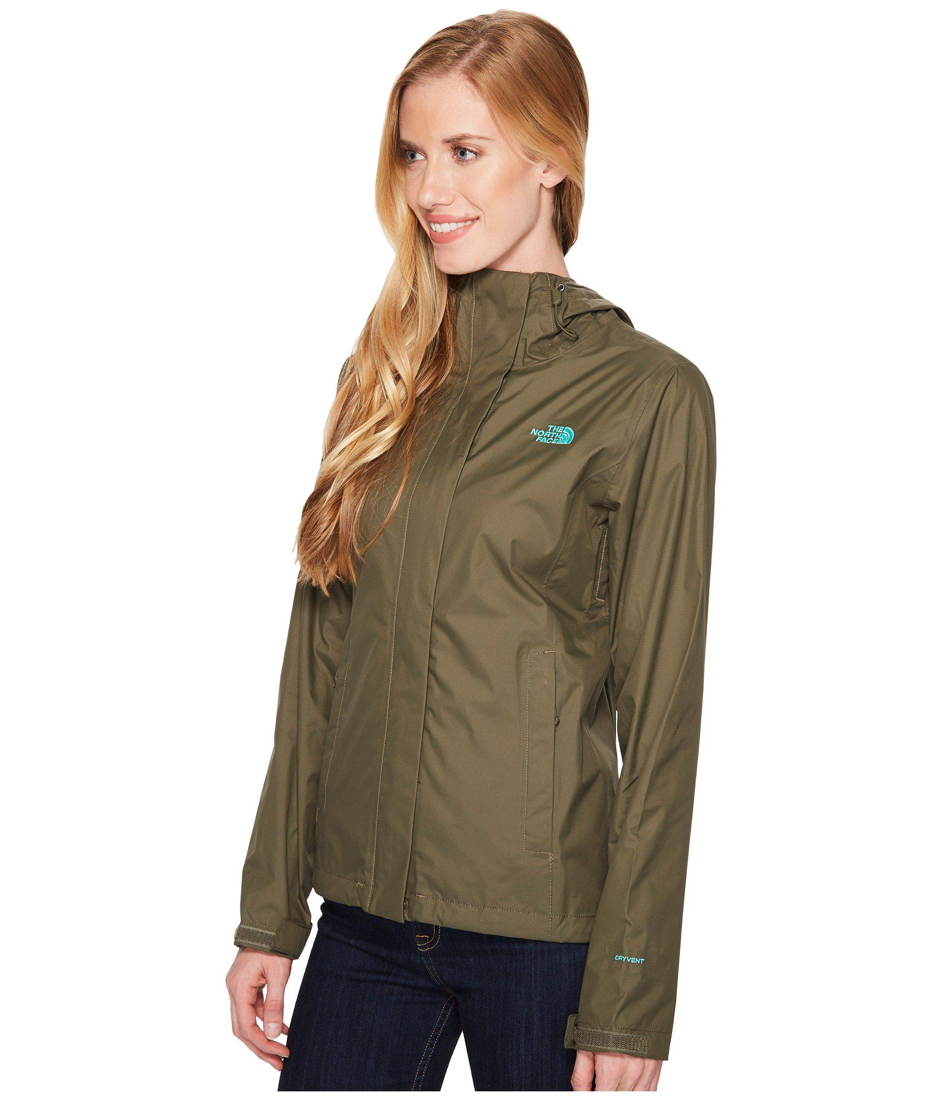 Lyst - The North Face Venture 2 Jacket (fig Heather) Women s Coat in ... 685246aaf