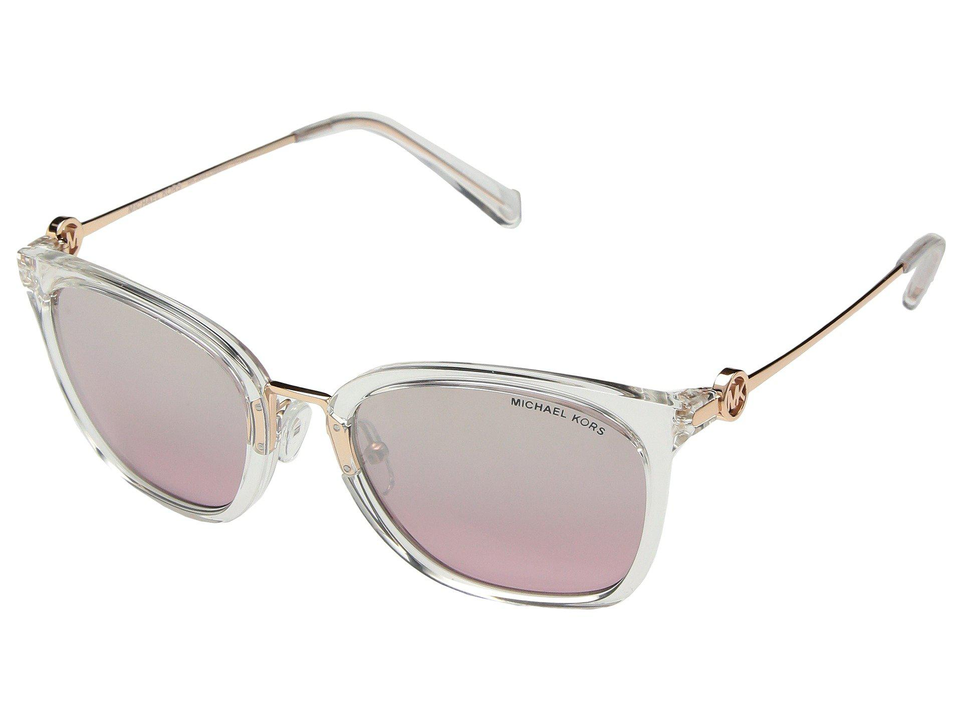 472cd4e9c6 Michael Kors 0mk2064 53mm (clear Crystal grey Pink Flash) Fashion ...