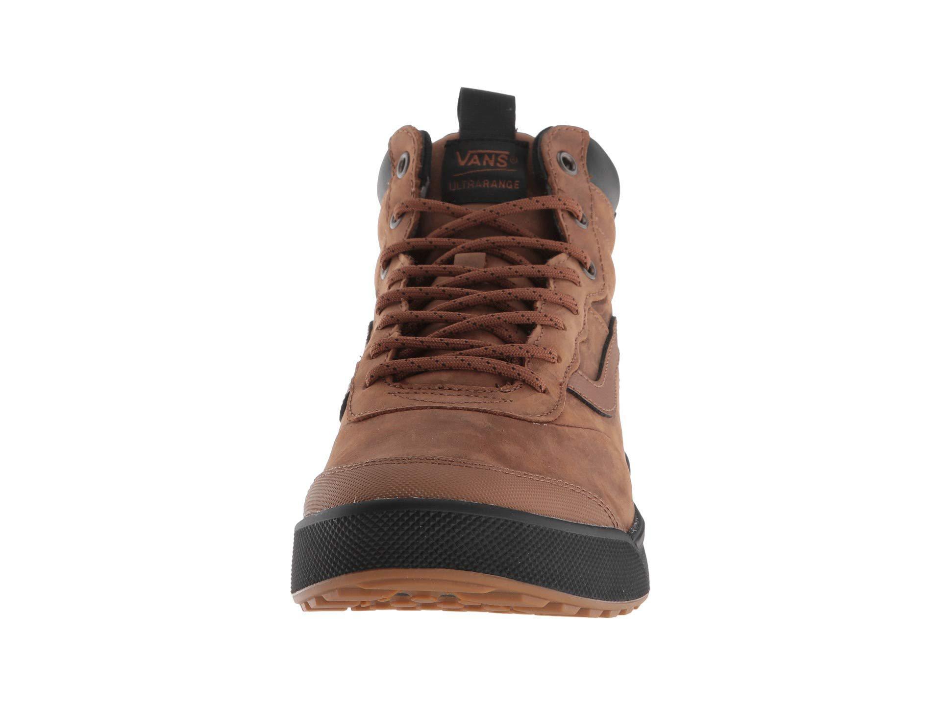 Lyst - Vans Ultrarange Hi Mte (bress Blues black) Men s Skate Shoes ... a6eeafd92