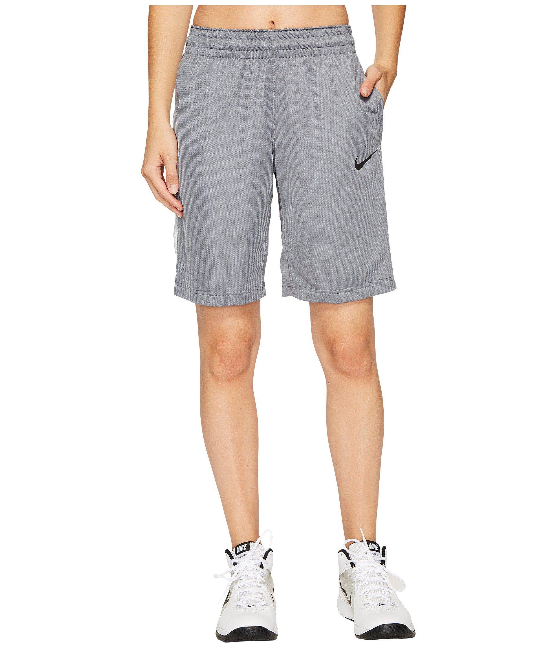 3a897385730e Lyst - Nike Dry Essential 10 Basketball Short (black black white ...