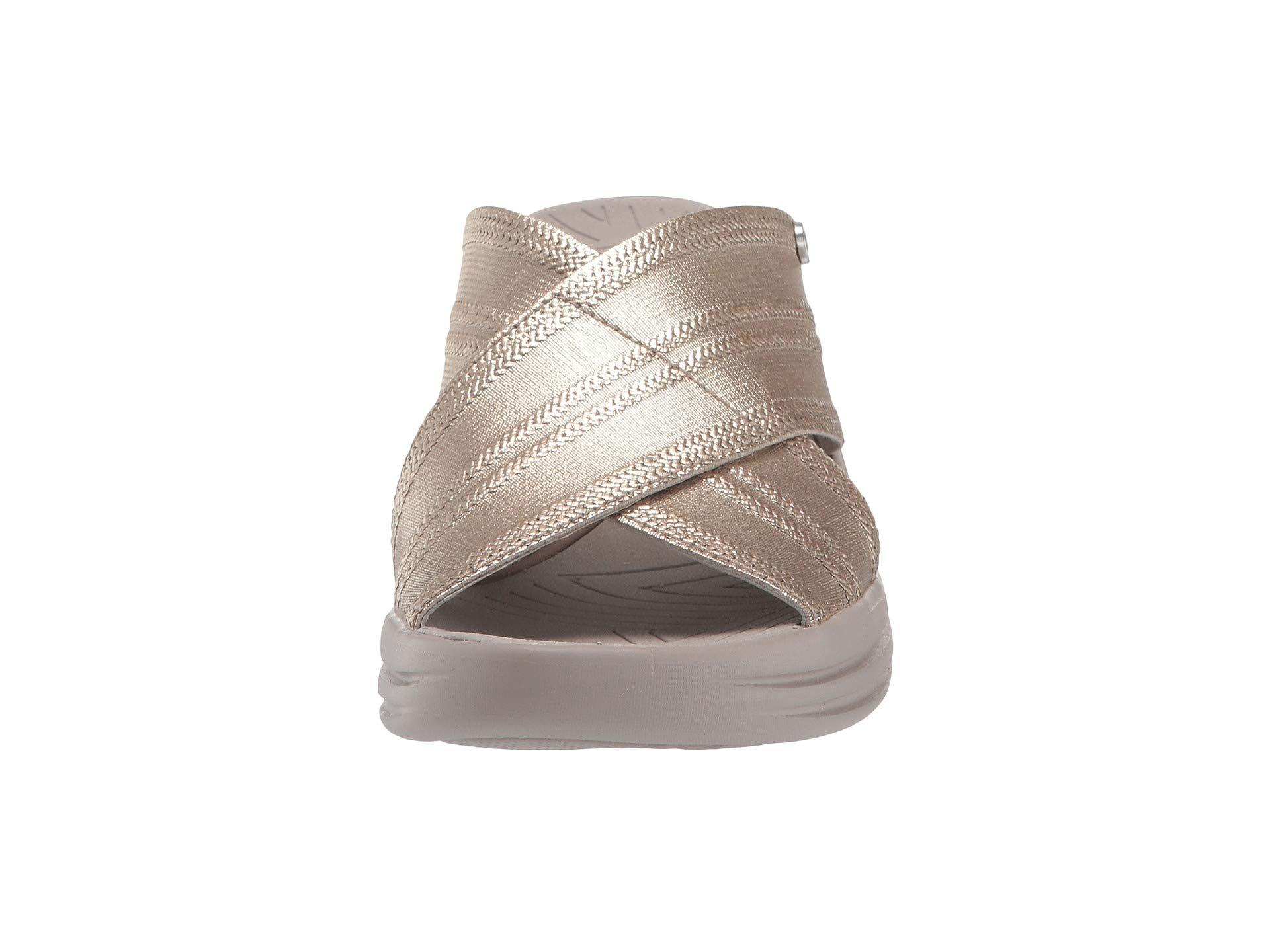 ffbb81c8d800 Bzees - Vista (light Gold Metallic Fabric) Women s Sandals - Lyst. View  fullscreen