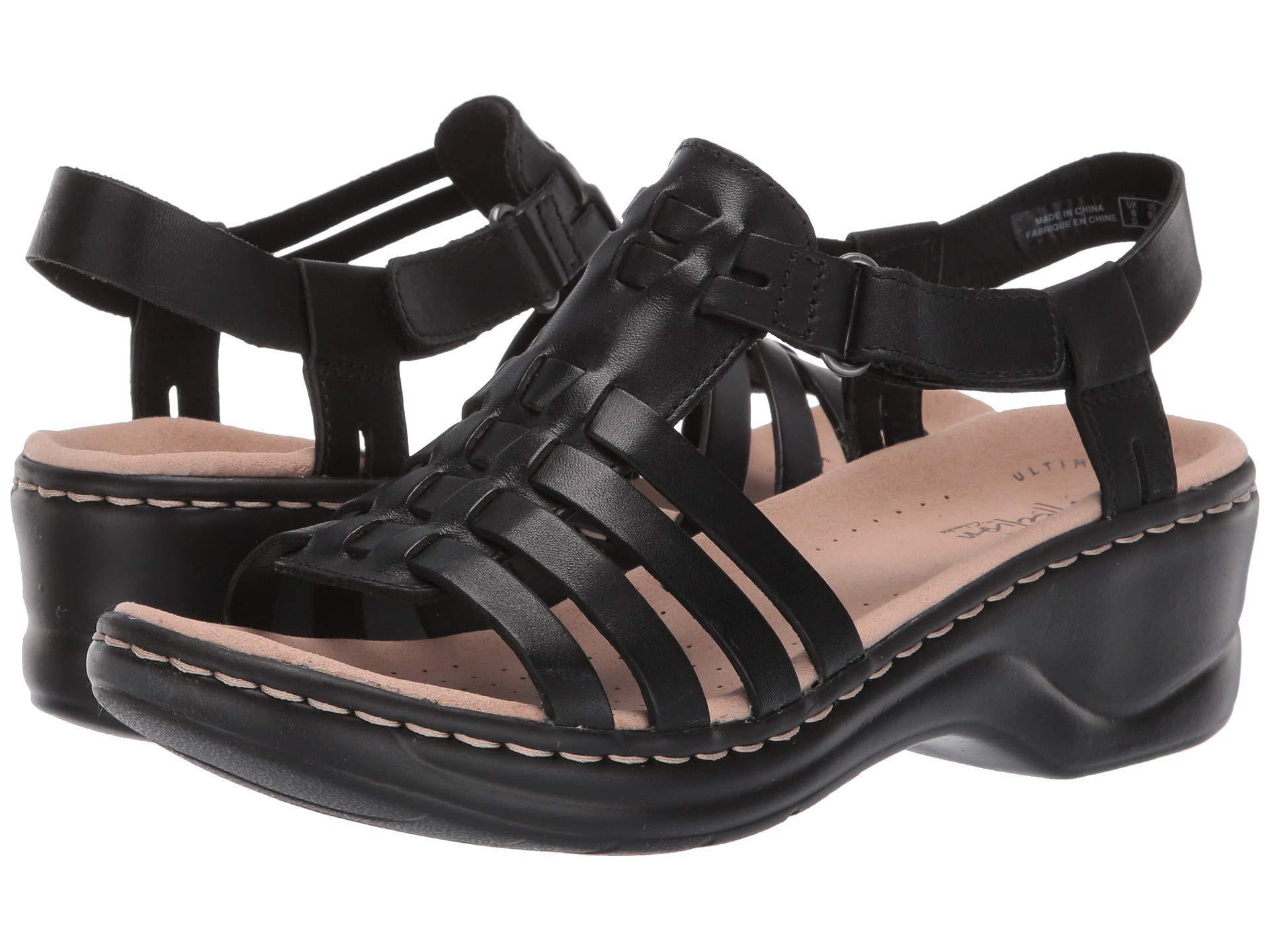 e7fa0f24ef2 Lyst - Clarks Lexi Bridge (tan Multi Leather) Women s Dress Sandals ...