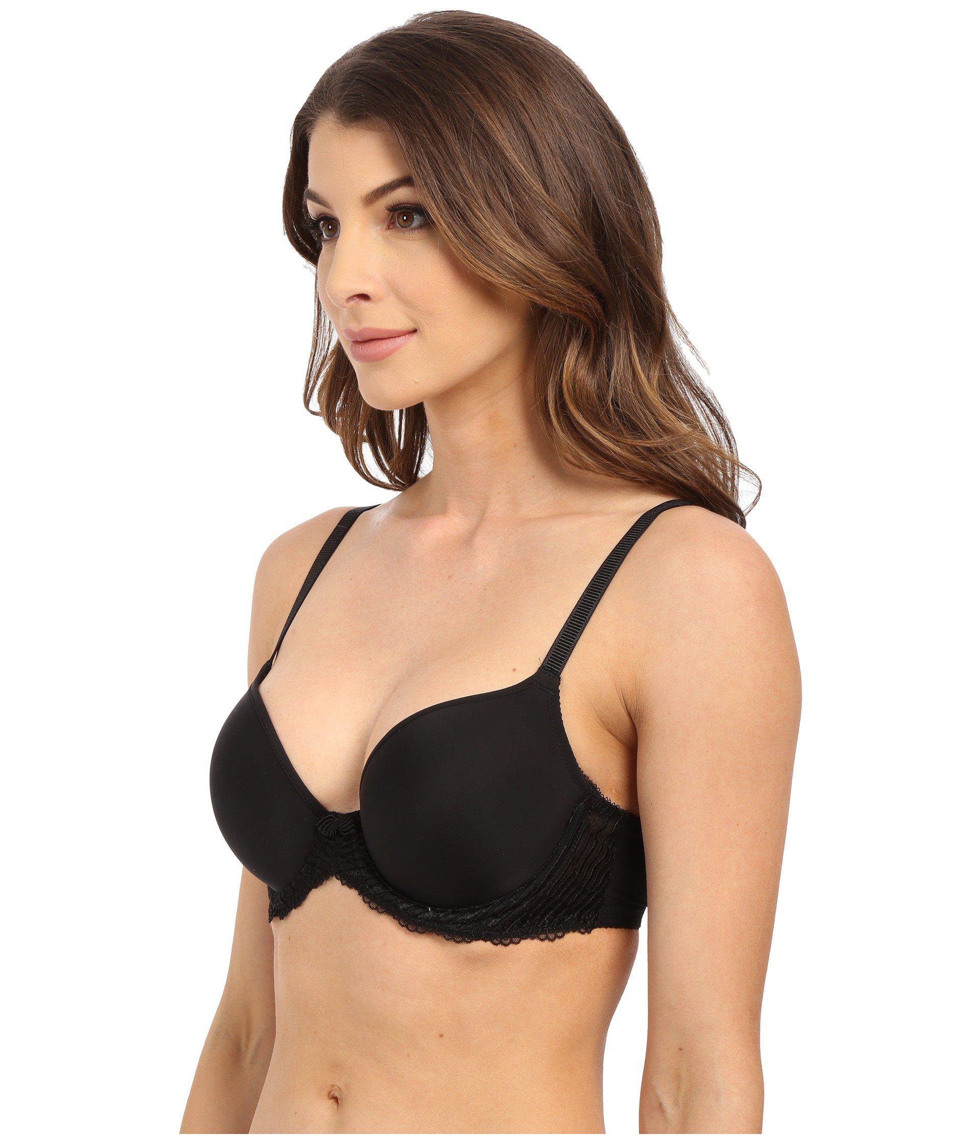 f790253474 Lyst - Wacoal La Femme Contour Underwire Bra 853117 (black) Women s Bra in  Black