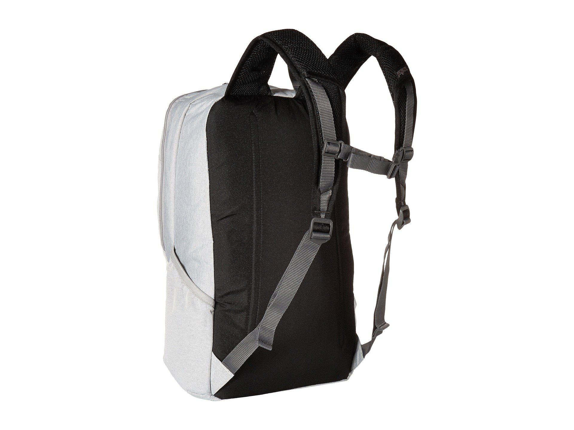 9be2876bb1 Lyst - Jansport Wynwood (grey Heathered Poly) Backpack Bags in Gray ...