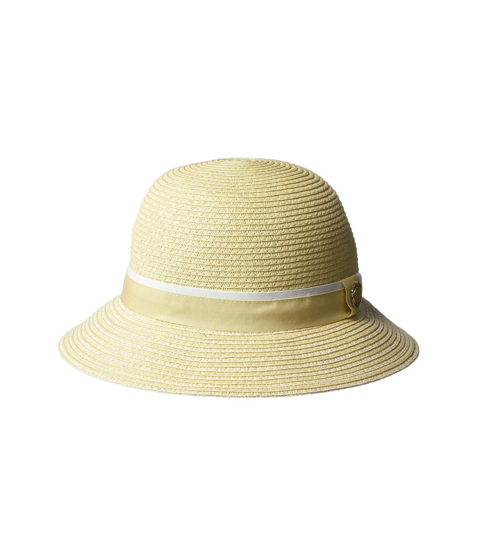 510a3e61d09 Vince Camuto. Women s Stripe Grosgrain Cloche (shell) Caps