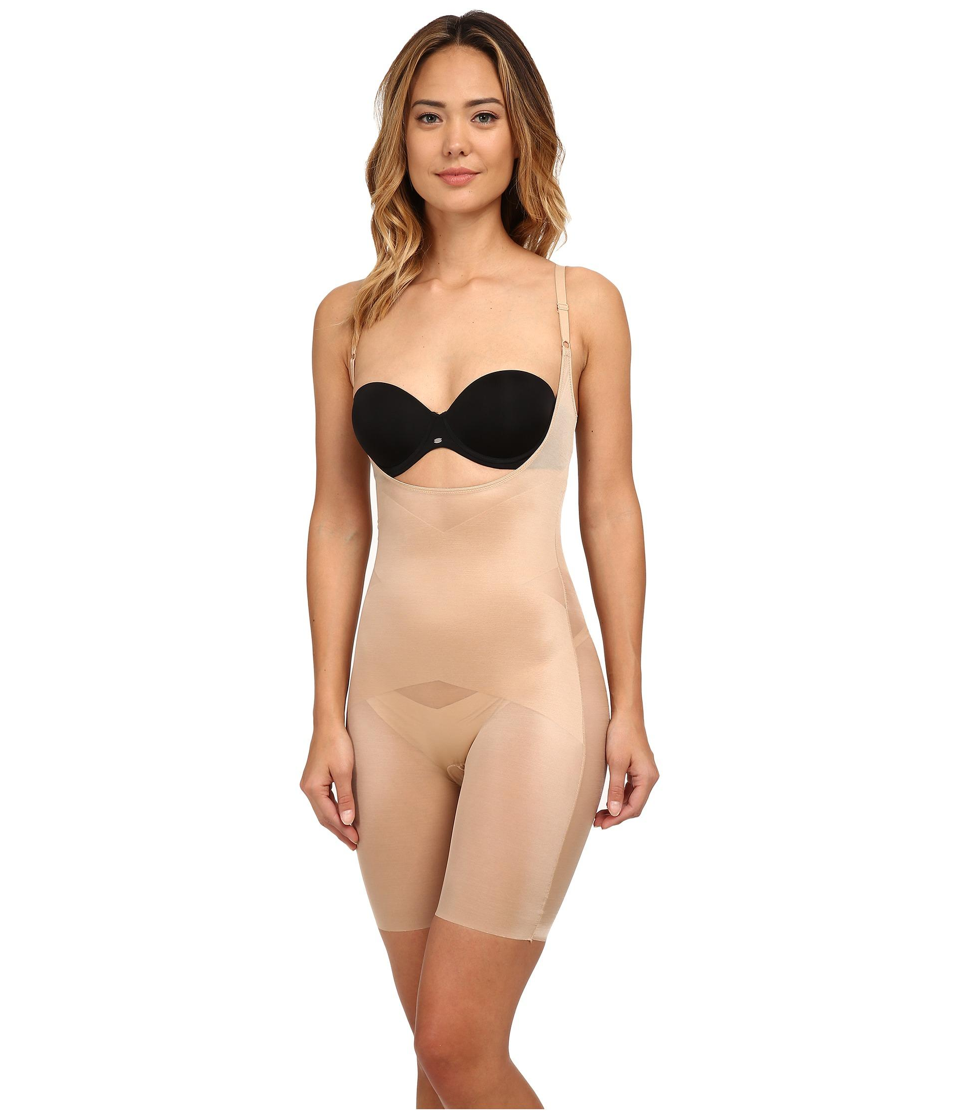 23fb5e2927c Spanx Skinny Britches® Super Open-bust Mid-thigh Body Shaper in ...