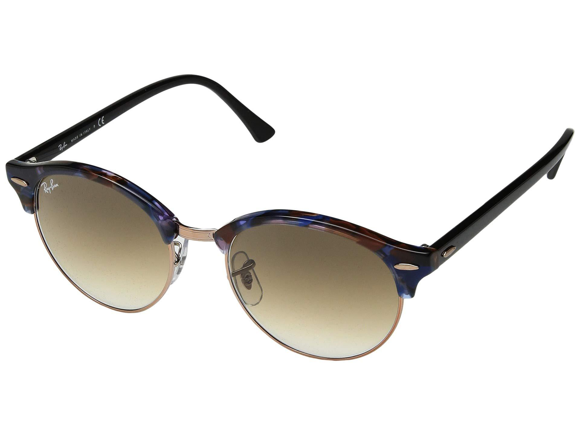 Ray-Ban. Women s Rb4246 51mm (spotted Brown blue brown Gradient) Fashion  Sunglasses 82f4687b050e