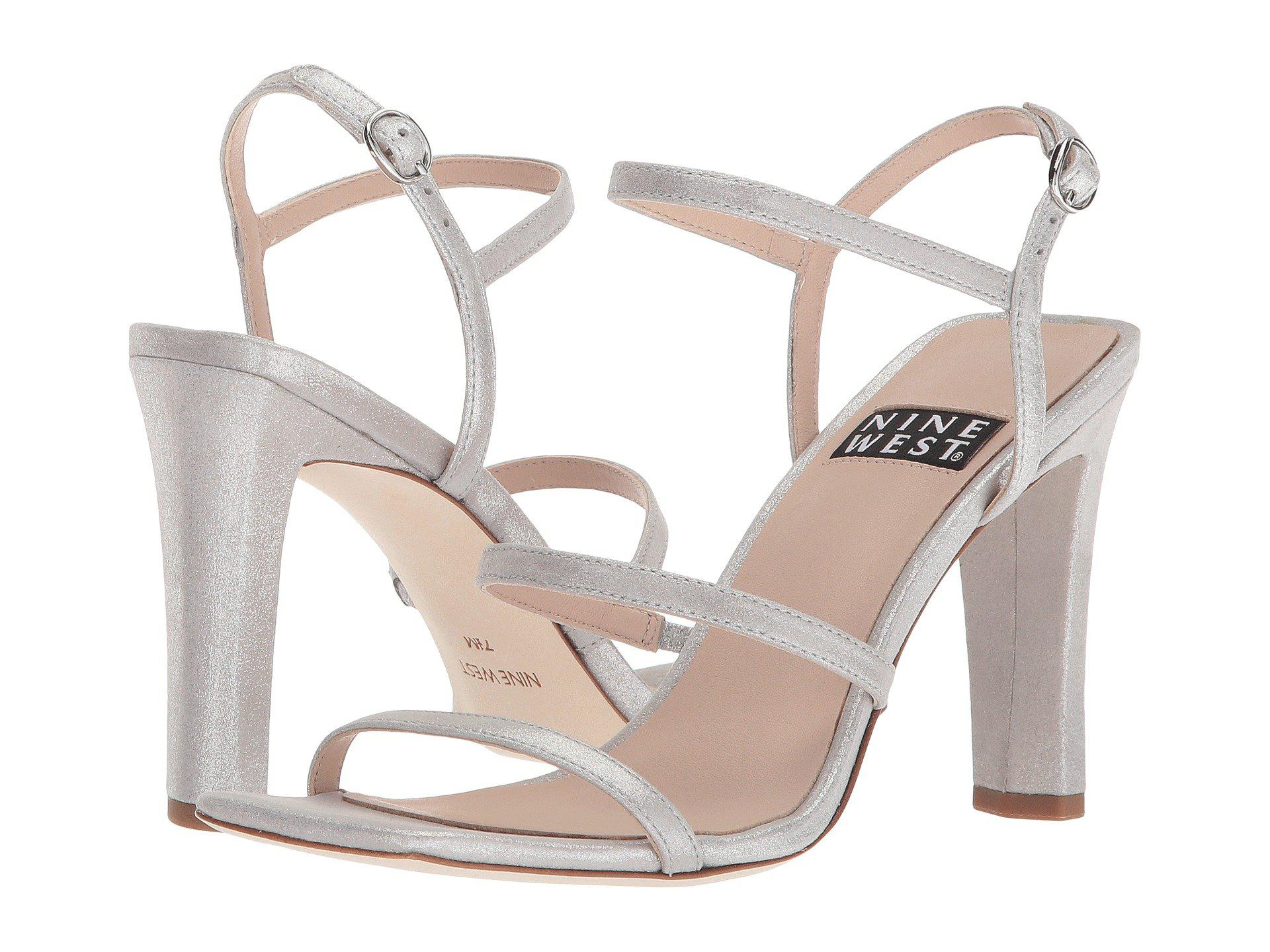 Nine WestGabelle 40th Anniversary Strappy Heeled Sandal 74fai5Rq