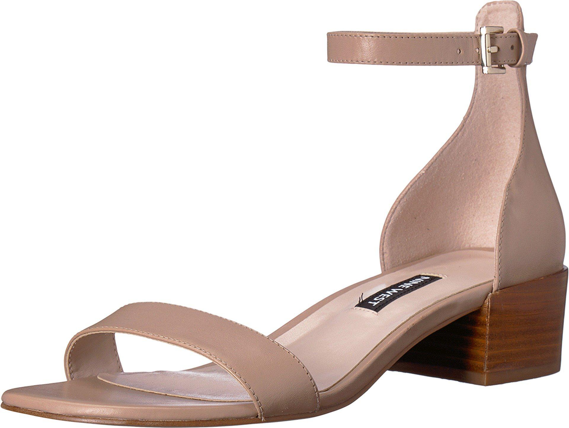 Xuxa Block Heel Sandal Nine West jzd7VV