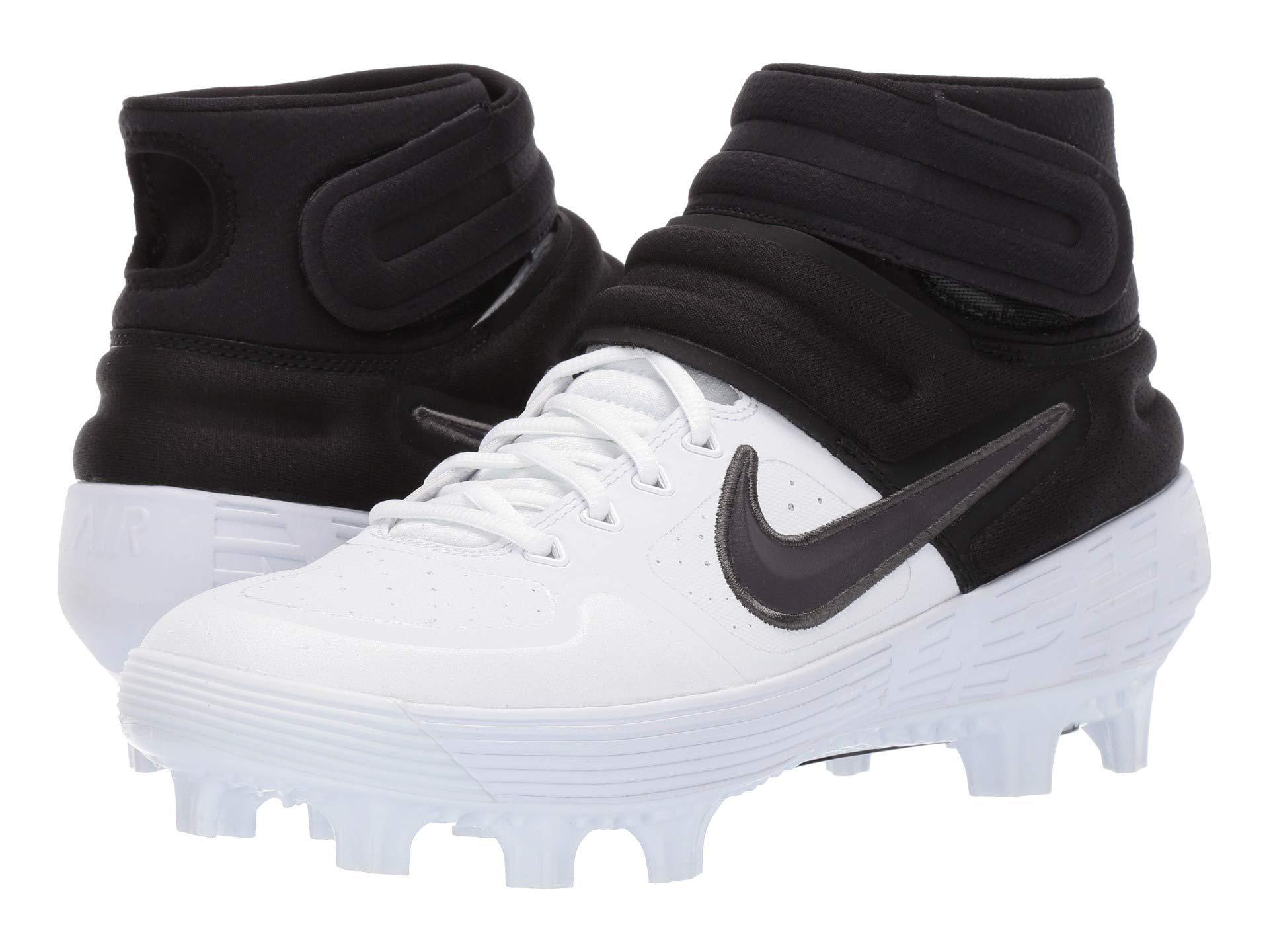 765df5fb194f Nike Alpha Huarache Elite 2 Mid Mcs (black/white) Men's Cleated ...
