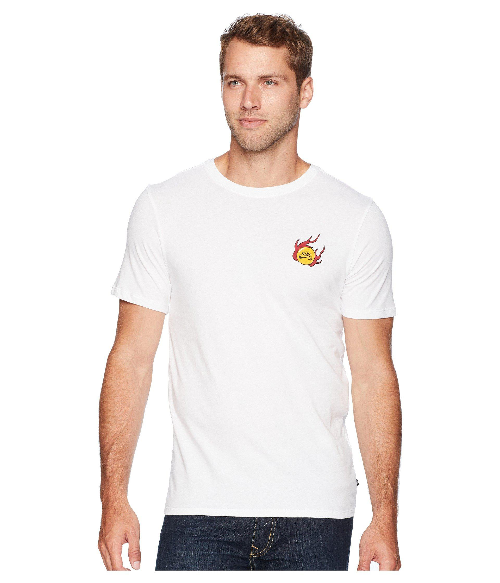 5398dcb43 Nike Sb Dragon Tee (white/black) Men's T Shirt in White for Men - Lyst