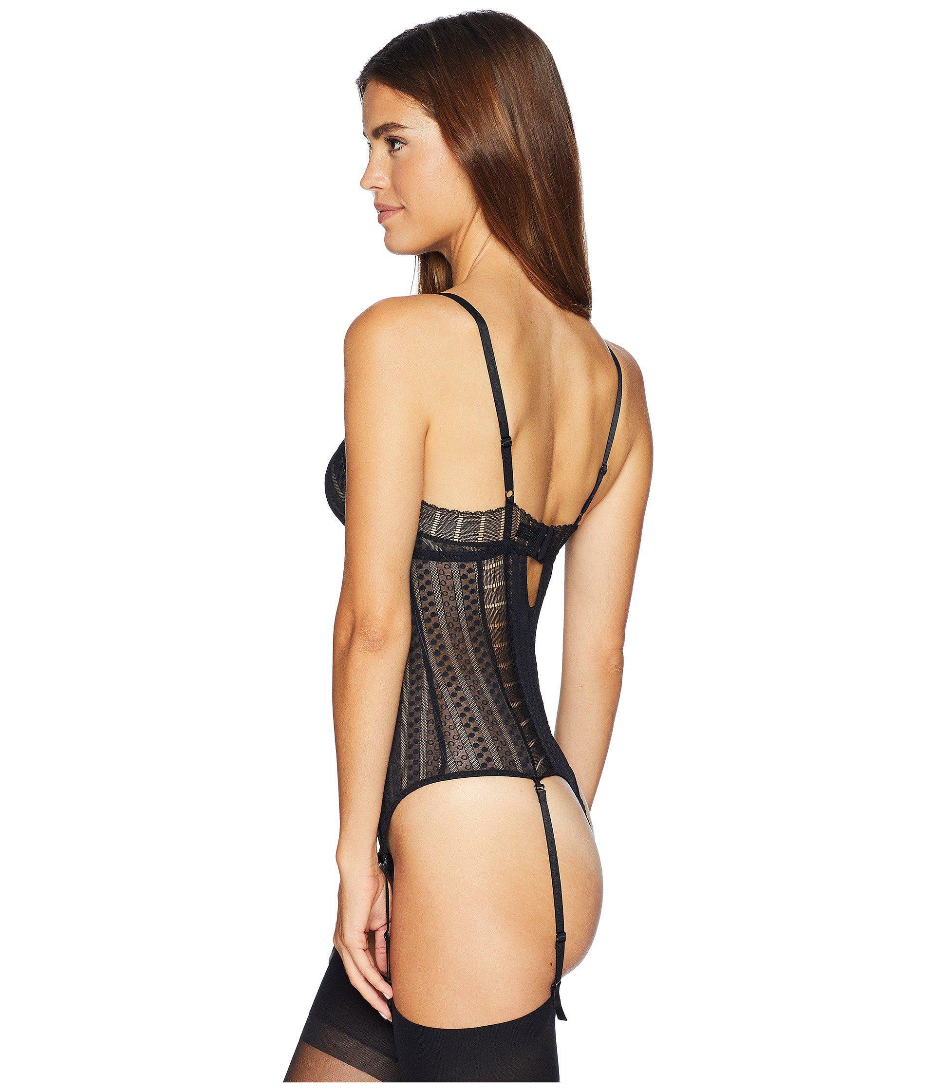 a1d94307d Else - Black Lolita Bodysuit - Lyst. View fullscreen