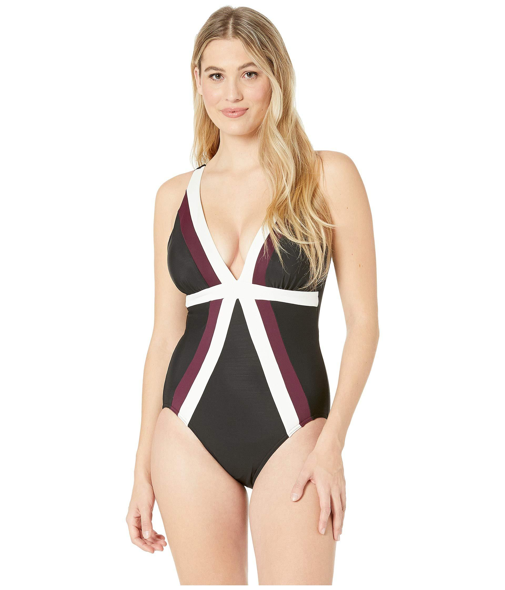 356e5cae1e23a Miraclesuit. Spectra Trilogy One-piece (black) Women's Swimsuits ...